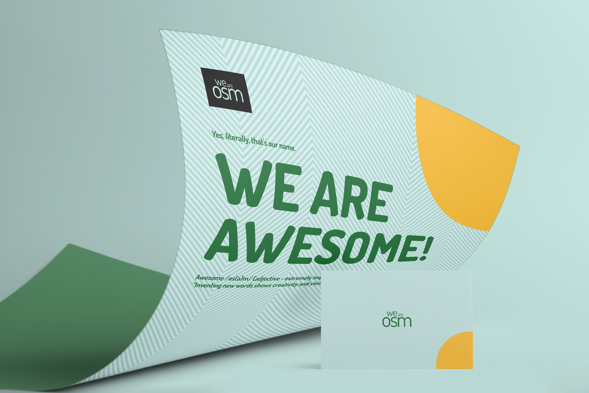 We Are OSM Visual Identity and Website Design by [Studio] General Condition