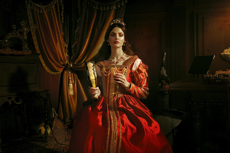 I, The Queen Wine Range Designed by Mubien Brands and Workshop Built