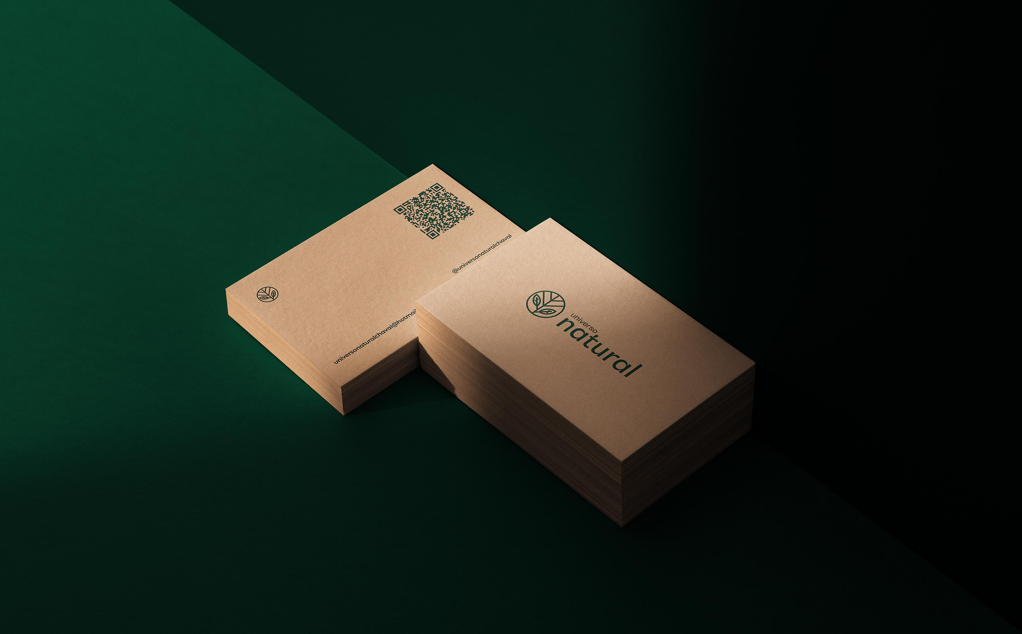 Visual Identity and Packaging Design for Universo Natural