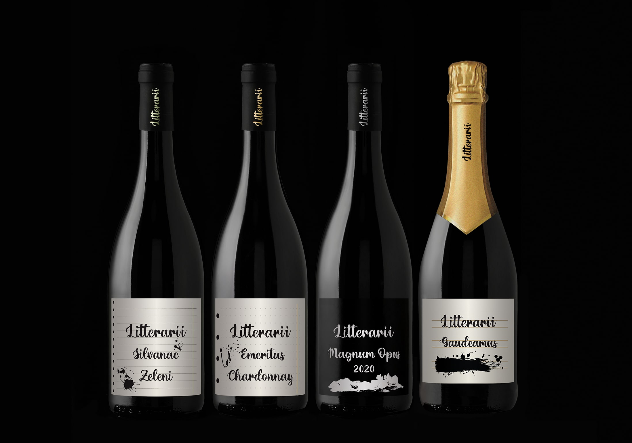 Fabular Agency Creates Brand Strategy, Name and Visual Identity for Litterarii Wines