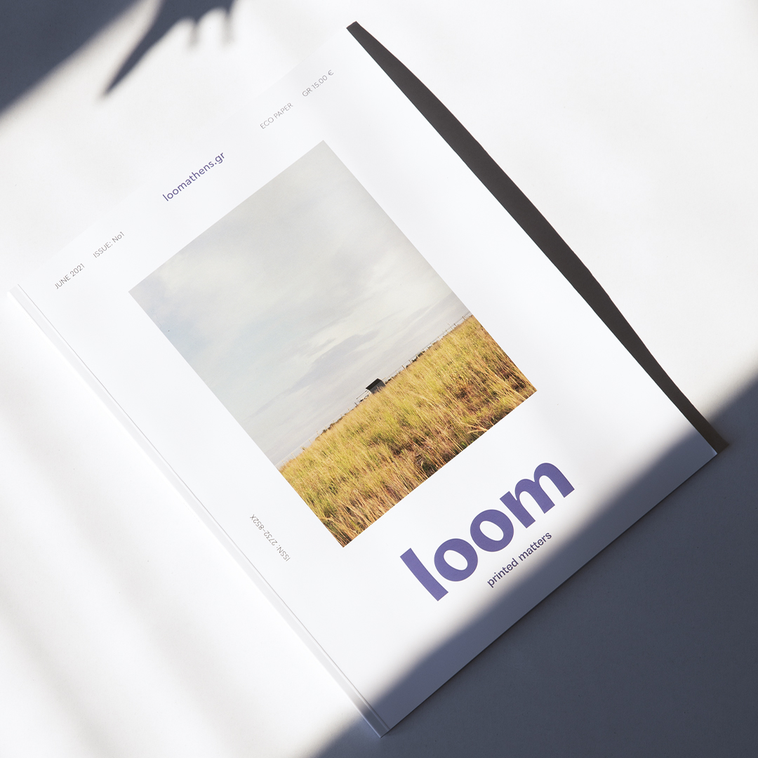 Loom-Printed Matters Magazine Designed by Emmanouela Desipri and Candia Souranaki
