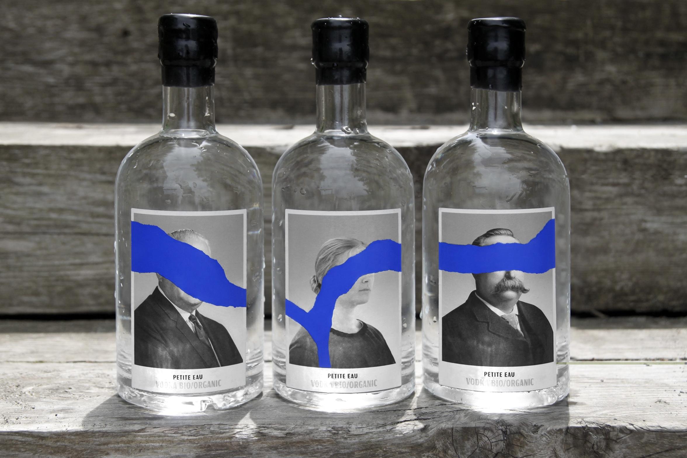 Paprika Create Branding for Petite Eau Organic Vodka from the Distillerie Grand Dérangement