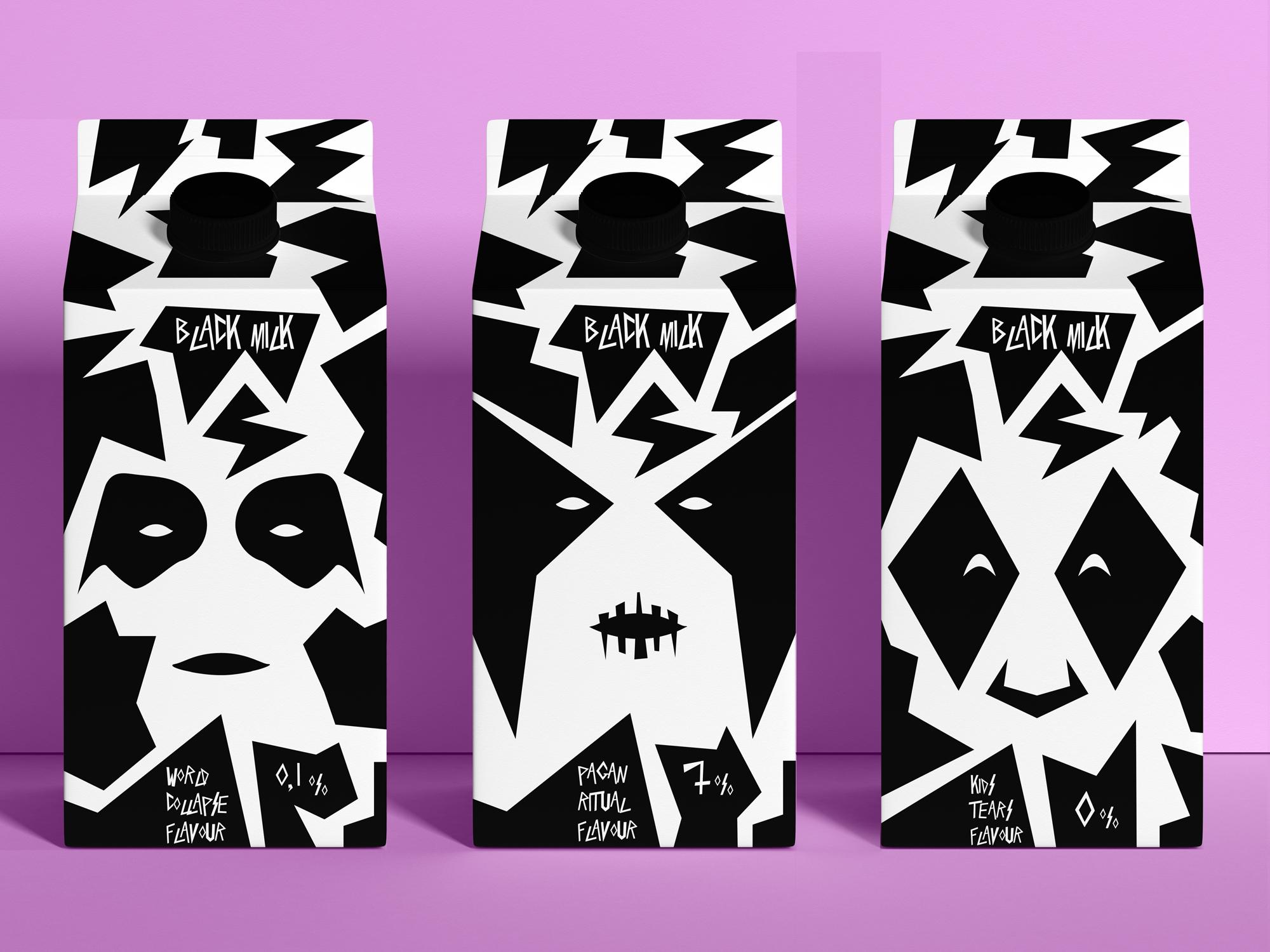 Black Milk Student Concept Created by Valeriy Sleba
