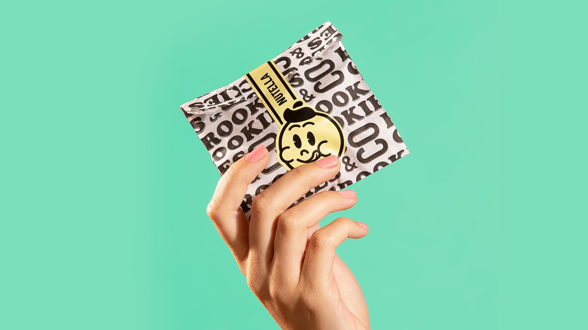 Brookies Cookies & Co Branding by Blank Design Studio