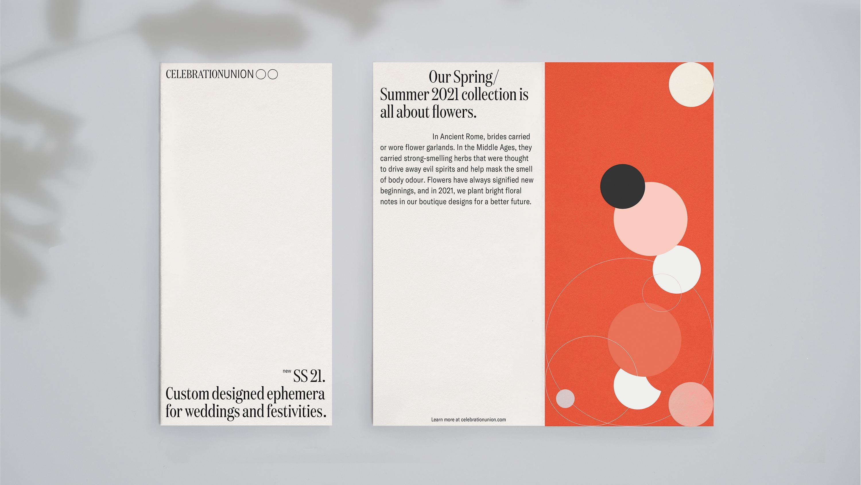 Celebration Union Brand Identity Concept Created by Ana Andreeva