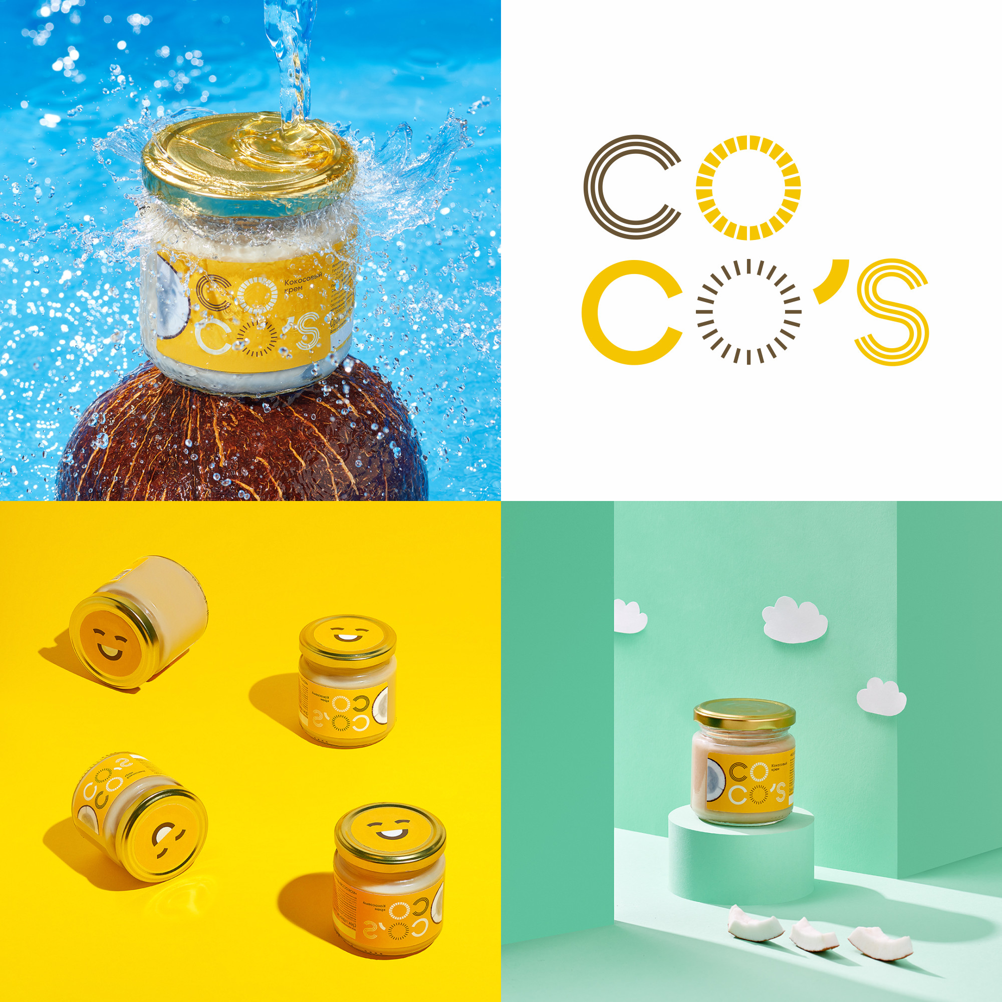 None Branding Agency Create Brand and Packaging Design for Coconut Cream