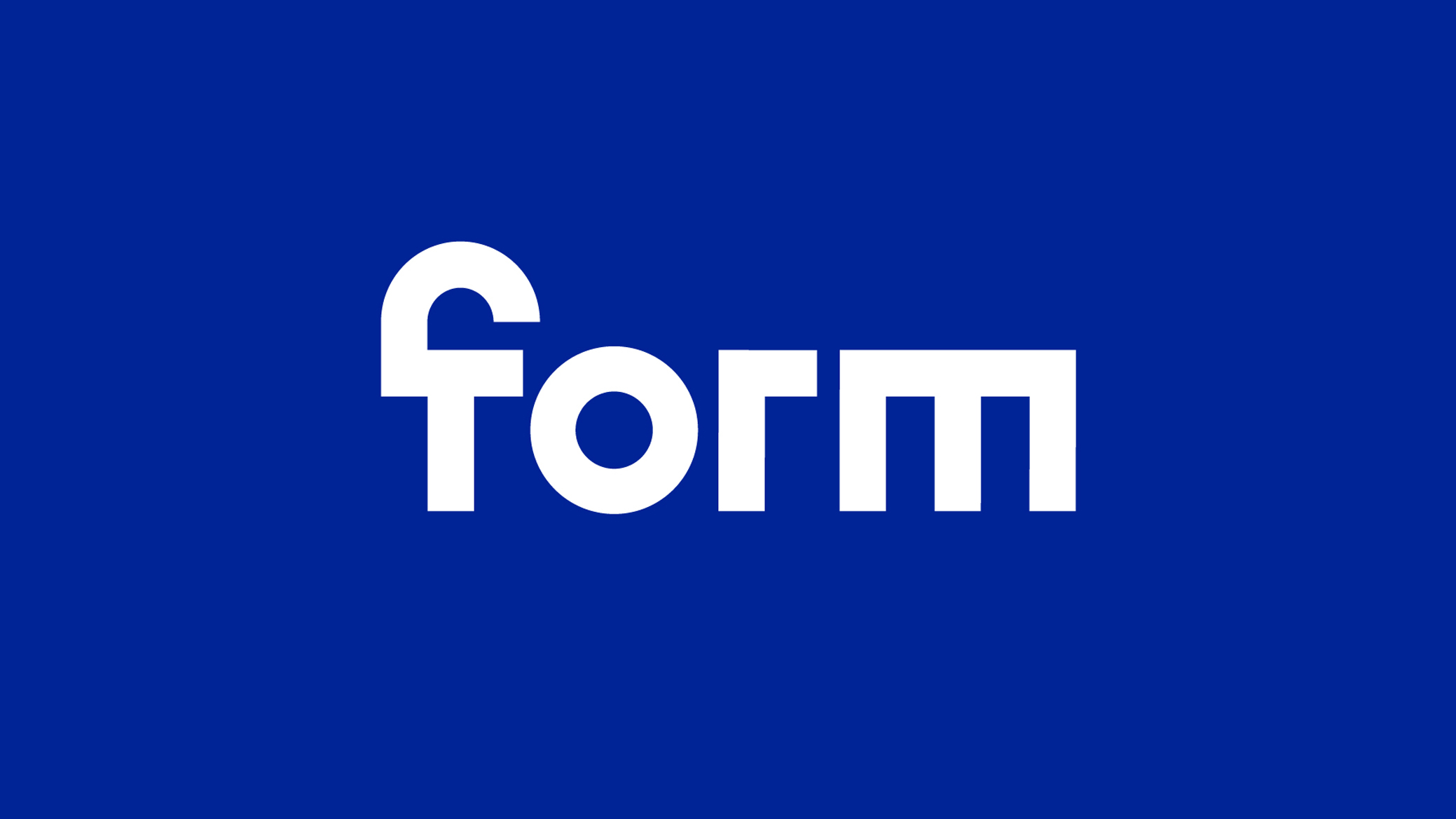 Form Bureau Identity and Website Designed by ESH Gruppa