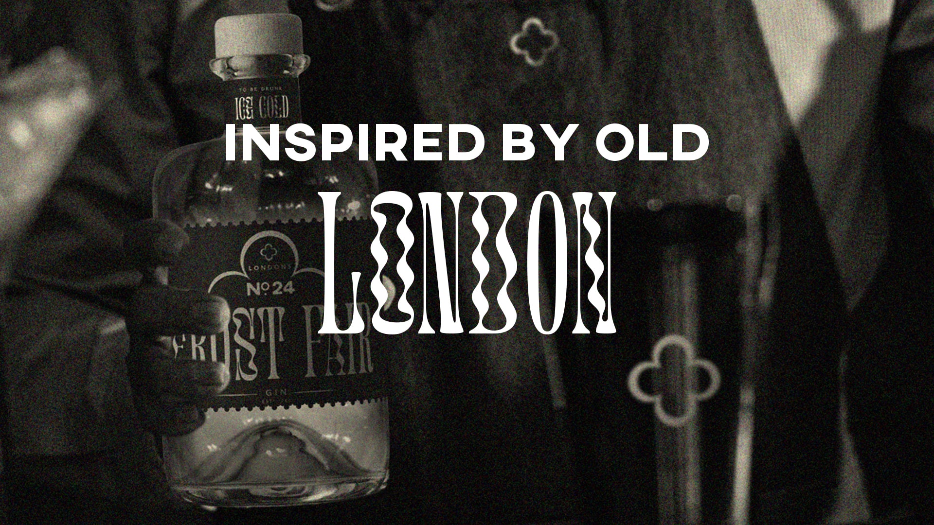 London's No.24 Frost Fair Gin Student Concept by Clare Palmer