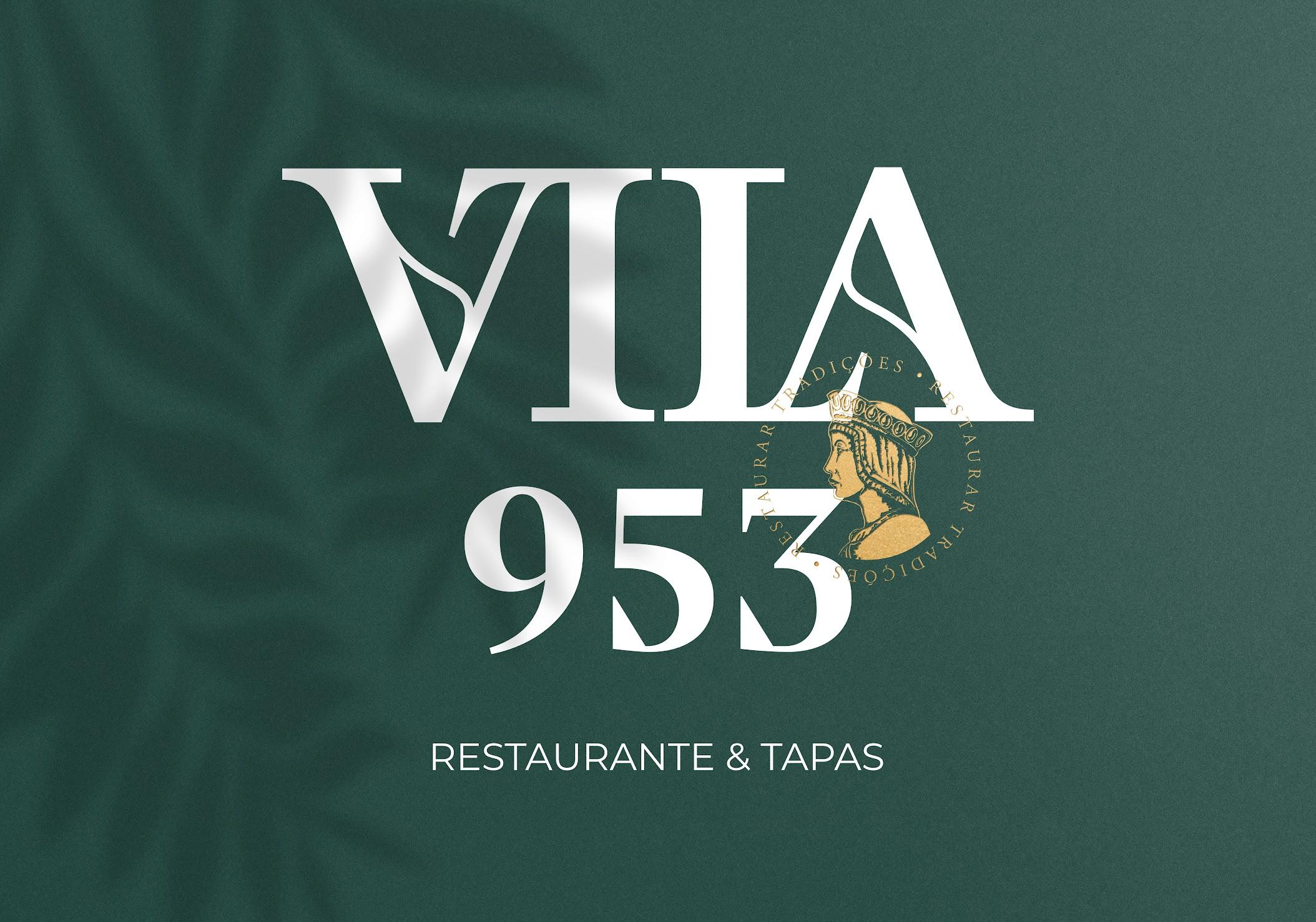 The Vila 953 Restaurant Branding Designed by Kobu Agency