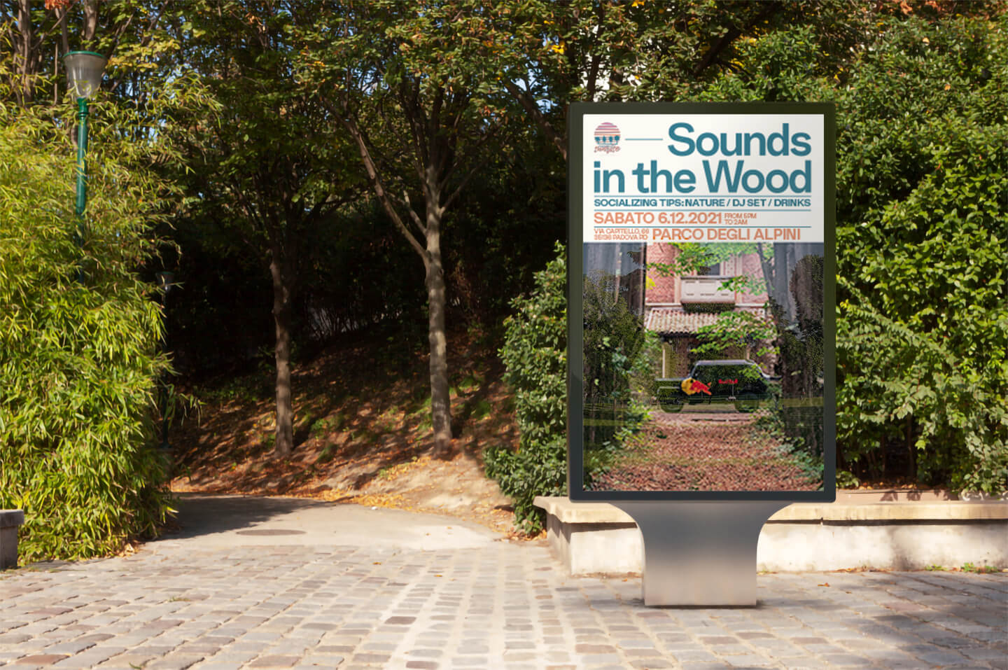 Visual Identity for Sound in the Wood Designed by Studio K95