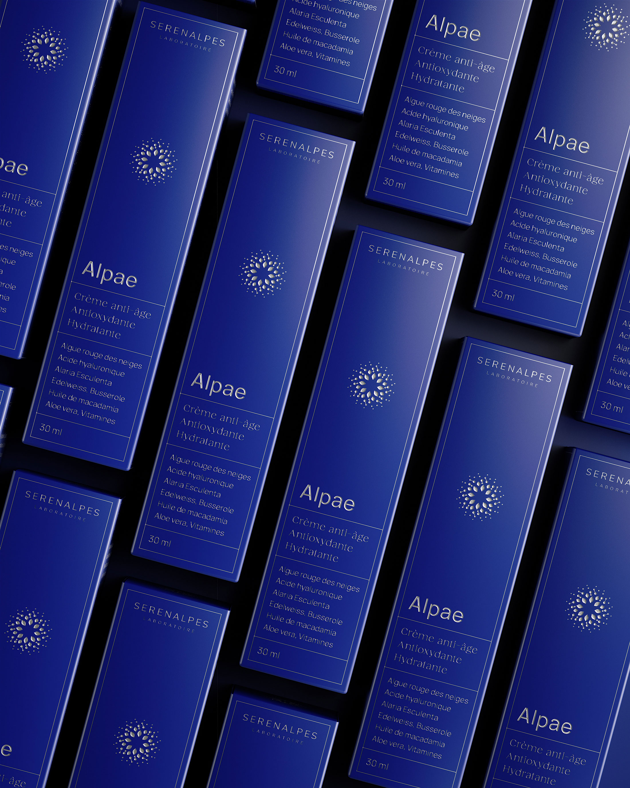 Packaging Design for Alpae Anti-Aging Cream Created by Petitmoulin Studio