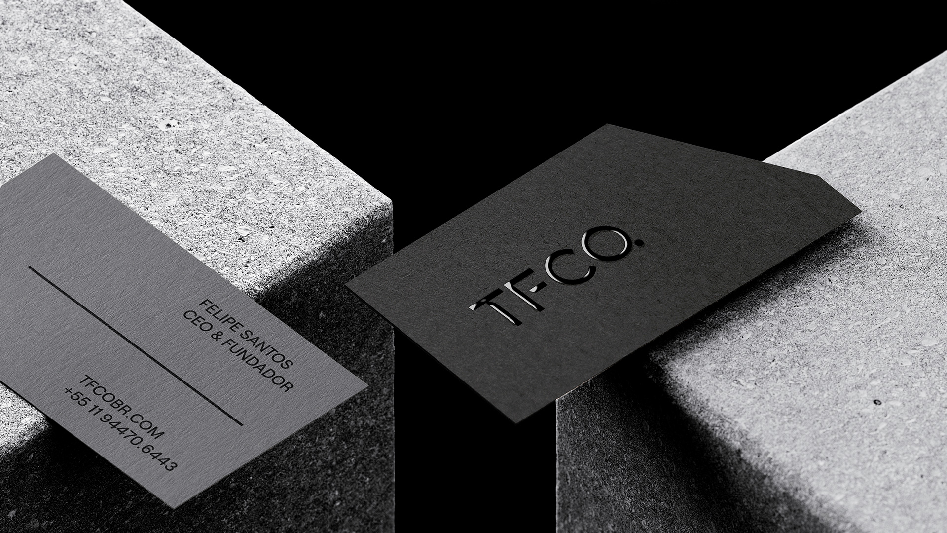 Branding for TFCO. Created by Ted Oliver