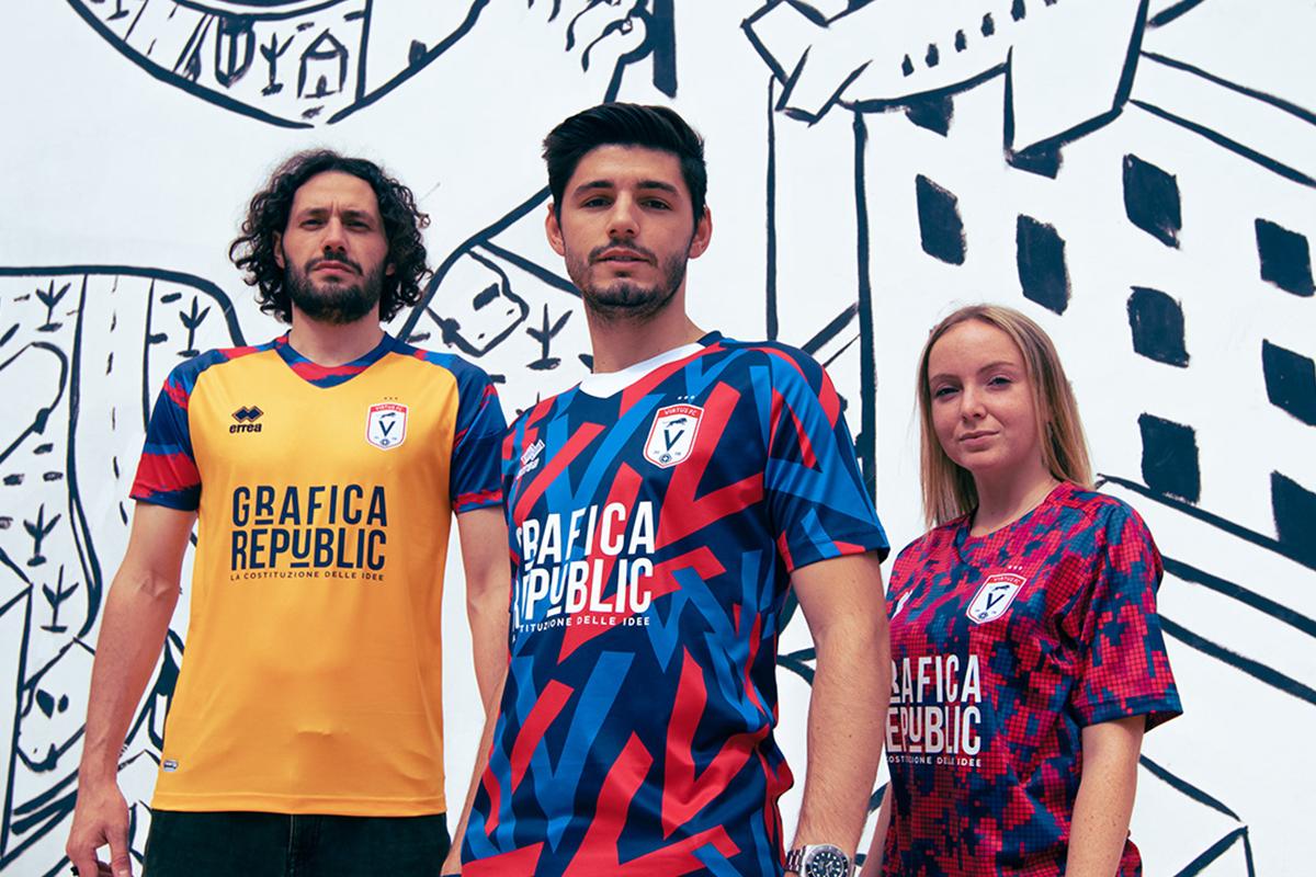 Students Rebranding for the Milanese Amateur Football Club Virtus FC Milan