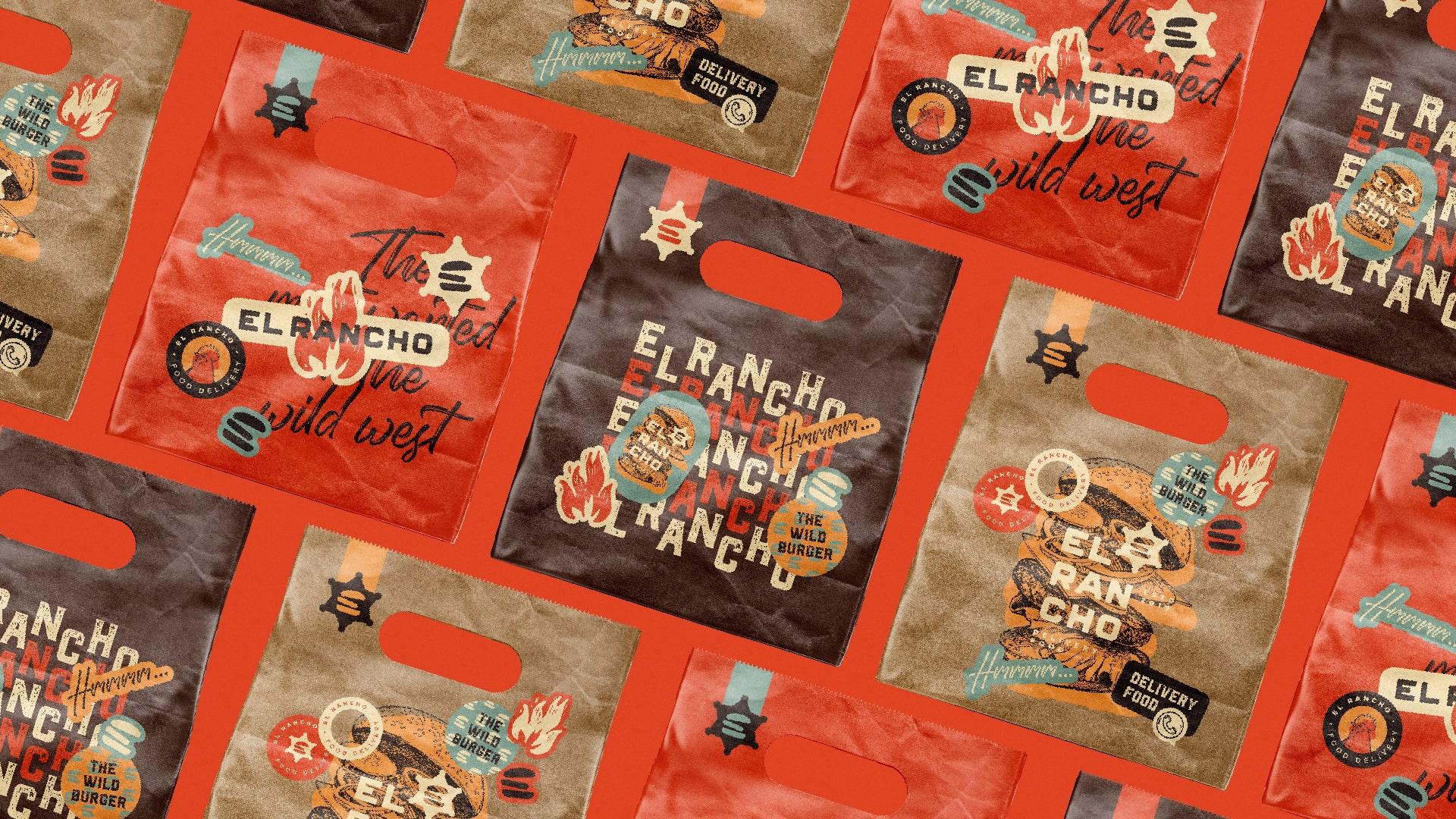 El Rancho Brand and Visual Identity by Matheus Ferreira