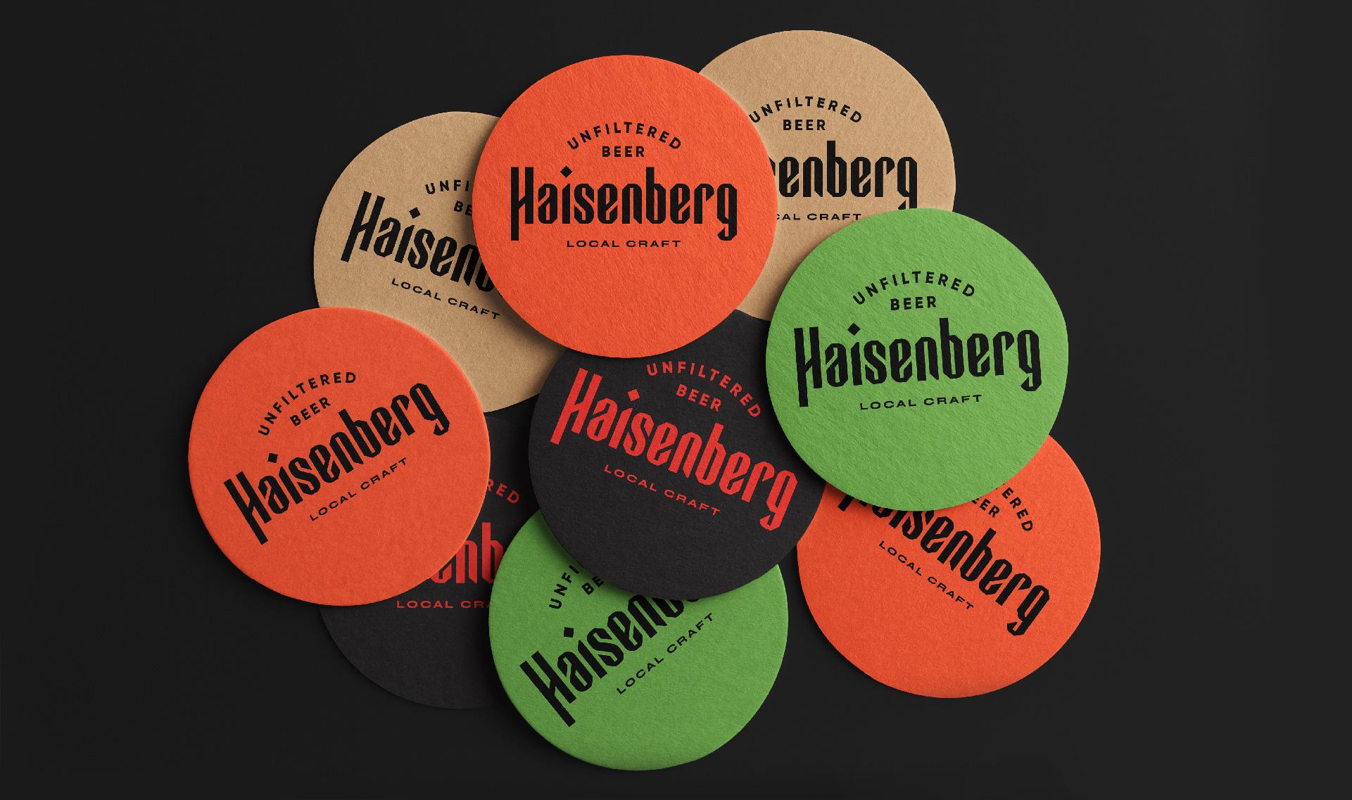 Dozen Agency Create Branding for Haisenberg Craft Beer