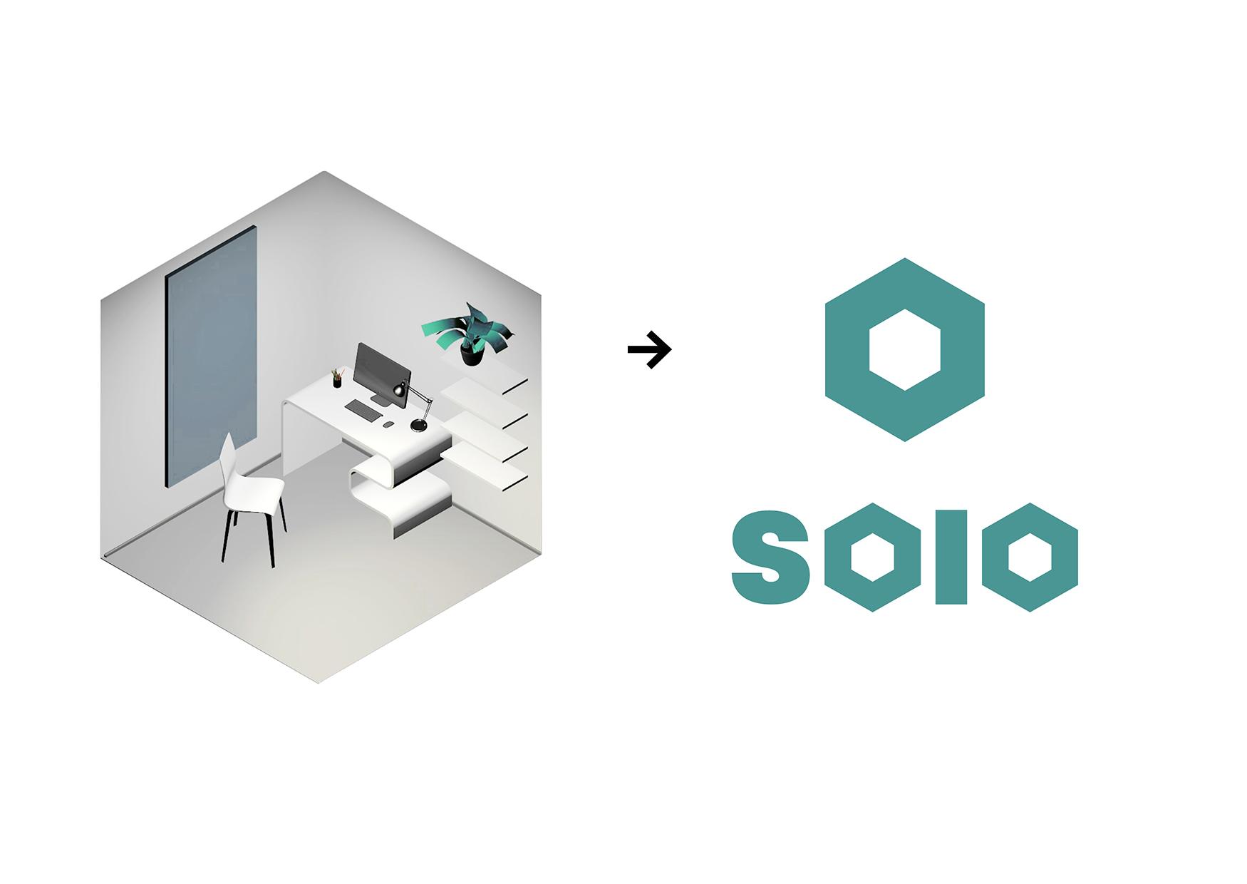 Anticoworking Solo Student Branding Concept by Polin Chestnova