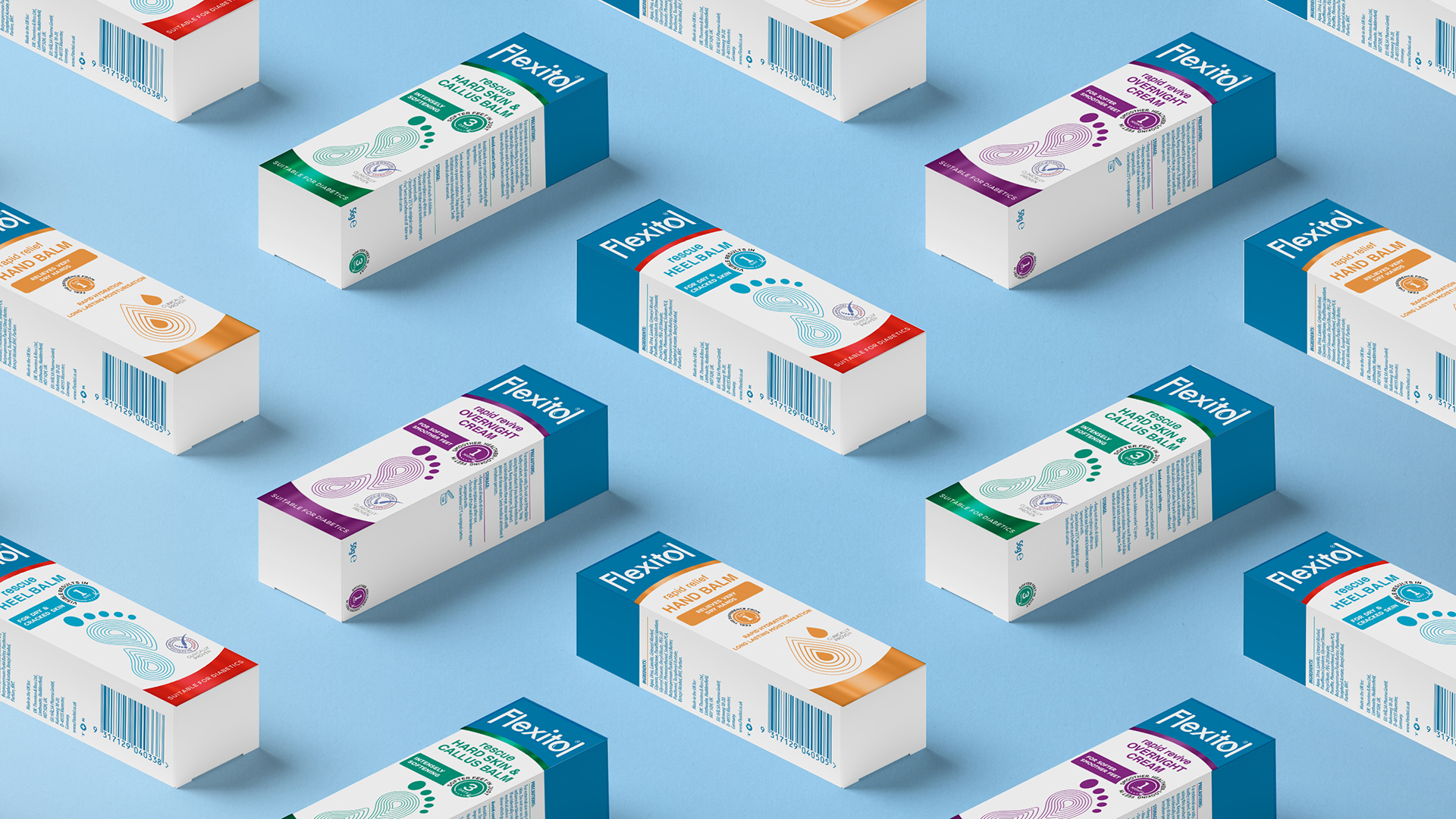 Flexitol Puts Its Best Foot Forward With New Packaging Design by Brandon