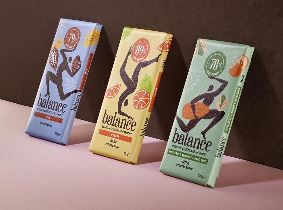 Quatre Mains Creates a Total Make-Over for Balance Chocolates