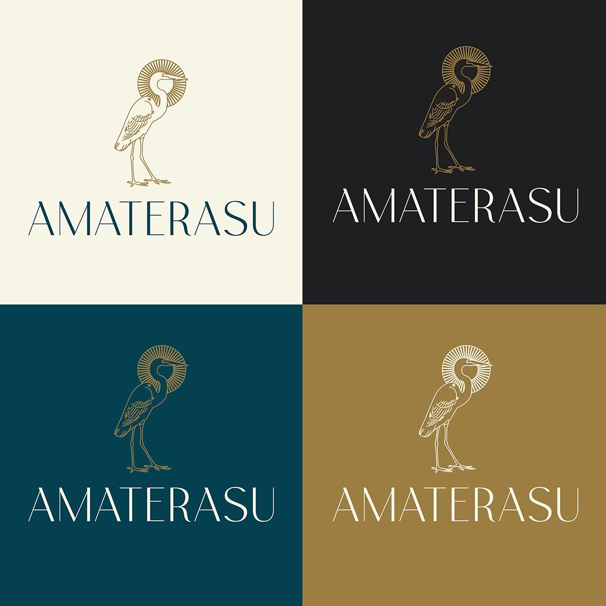 Branding for Japanese Restaurant Amaterasu