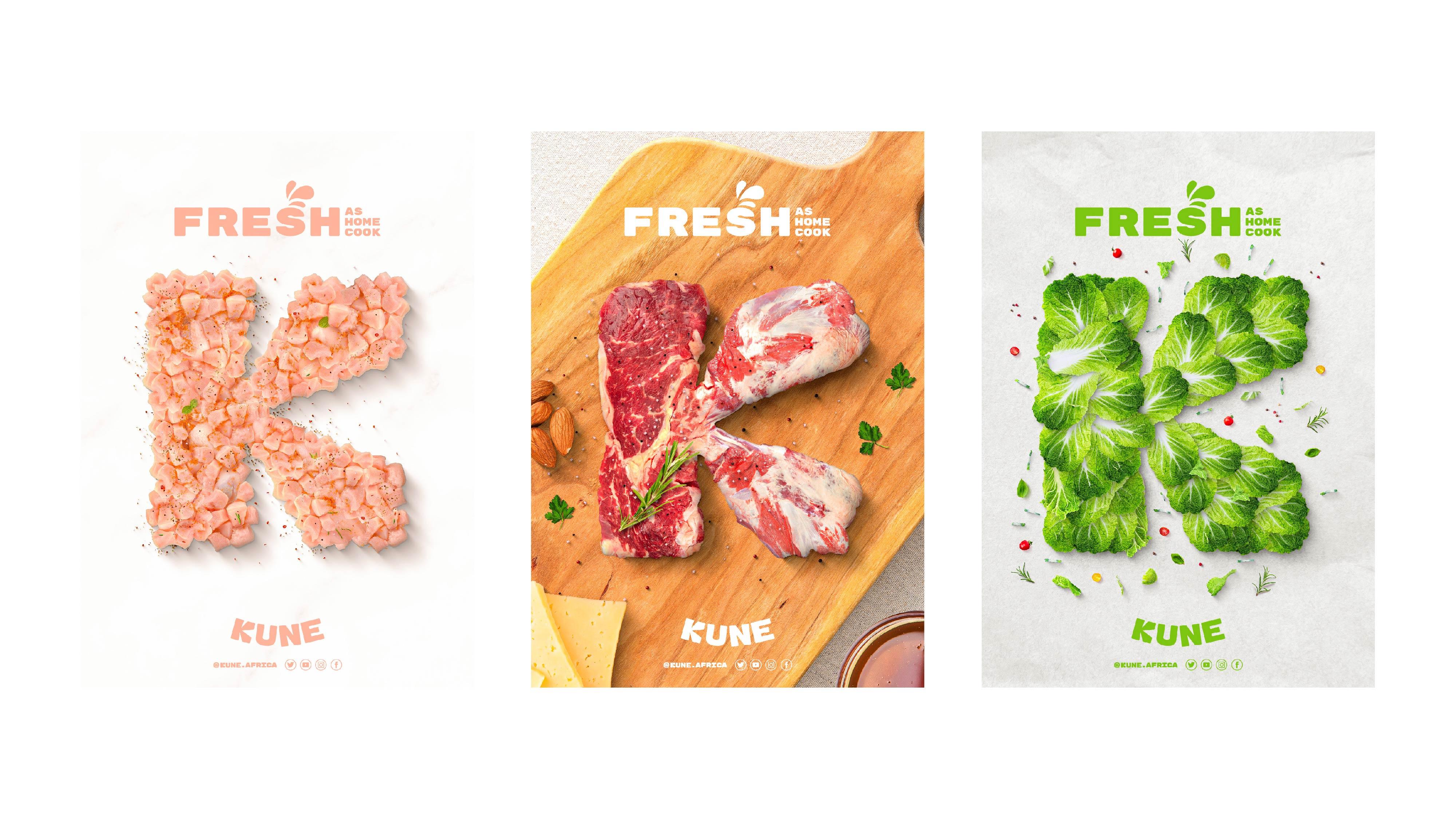 Bracom Agency Creates Brand and Packaging Design for Kune Food a Nairobi, Kenya Start-up