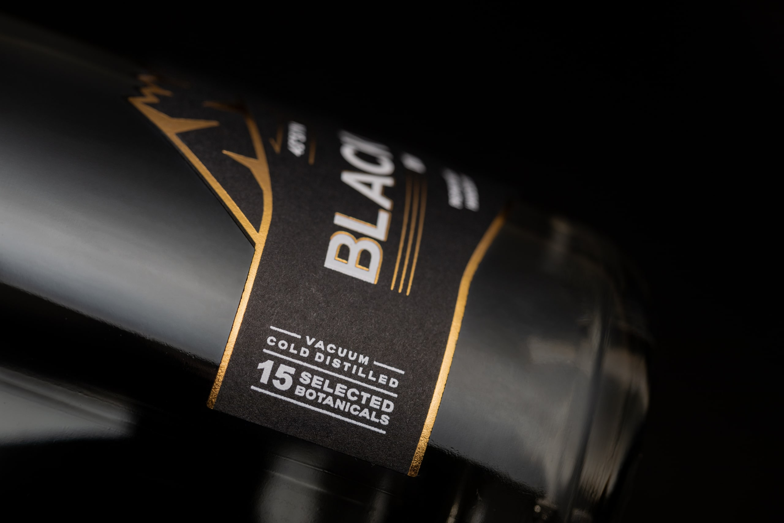 Blackmouth Dry Gin Label Re-Designed by Antonio Golia