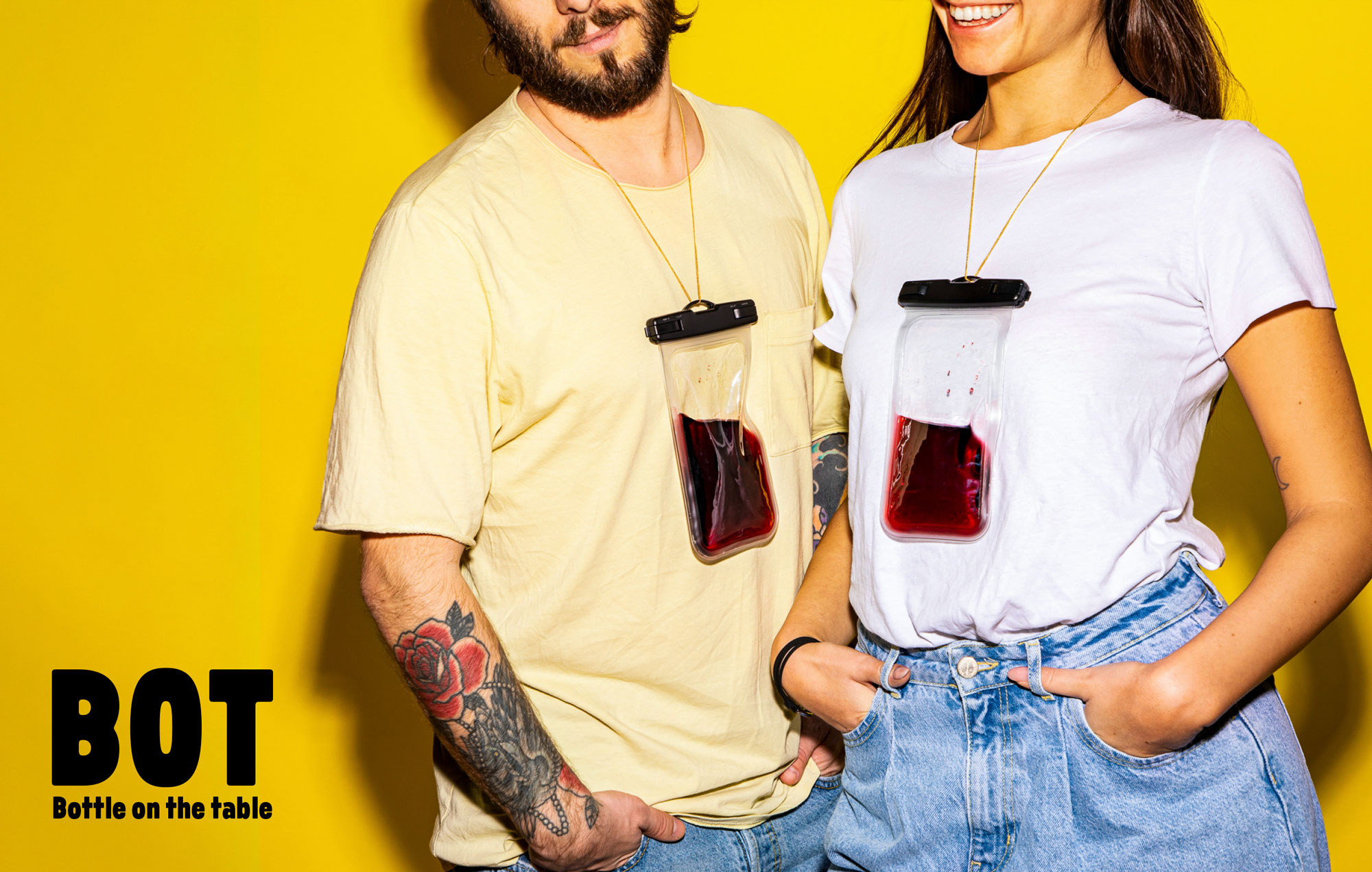 Millennial Targeted Wine Brand BOT – Bottle On the Table