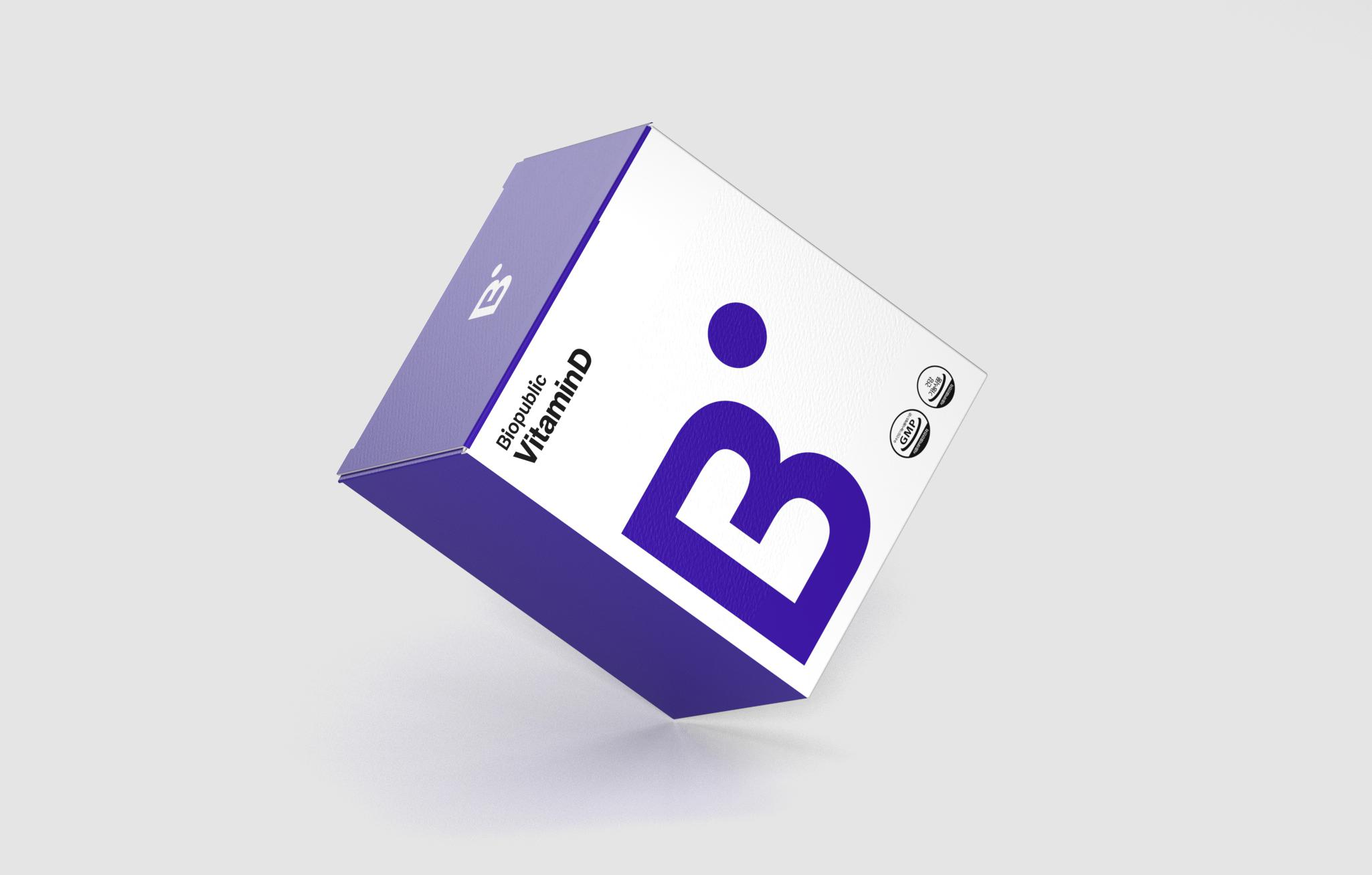 Biopublic Emart's Supplement Brand Designed by Yard Studio