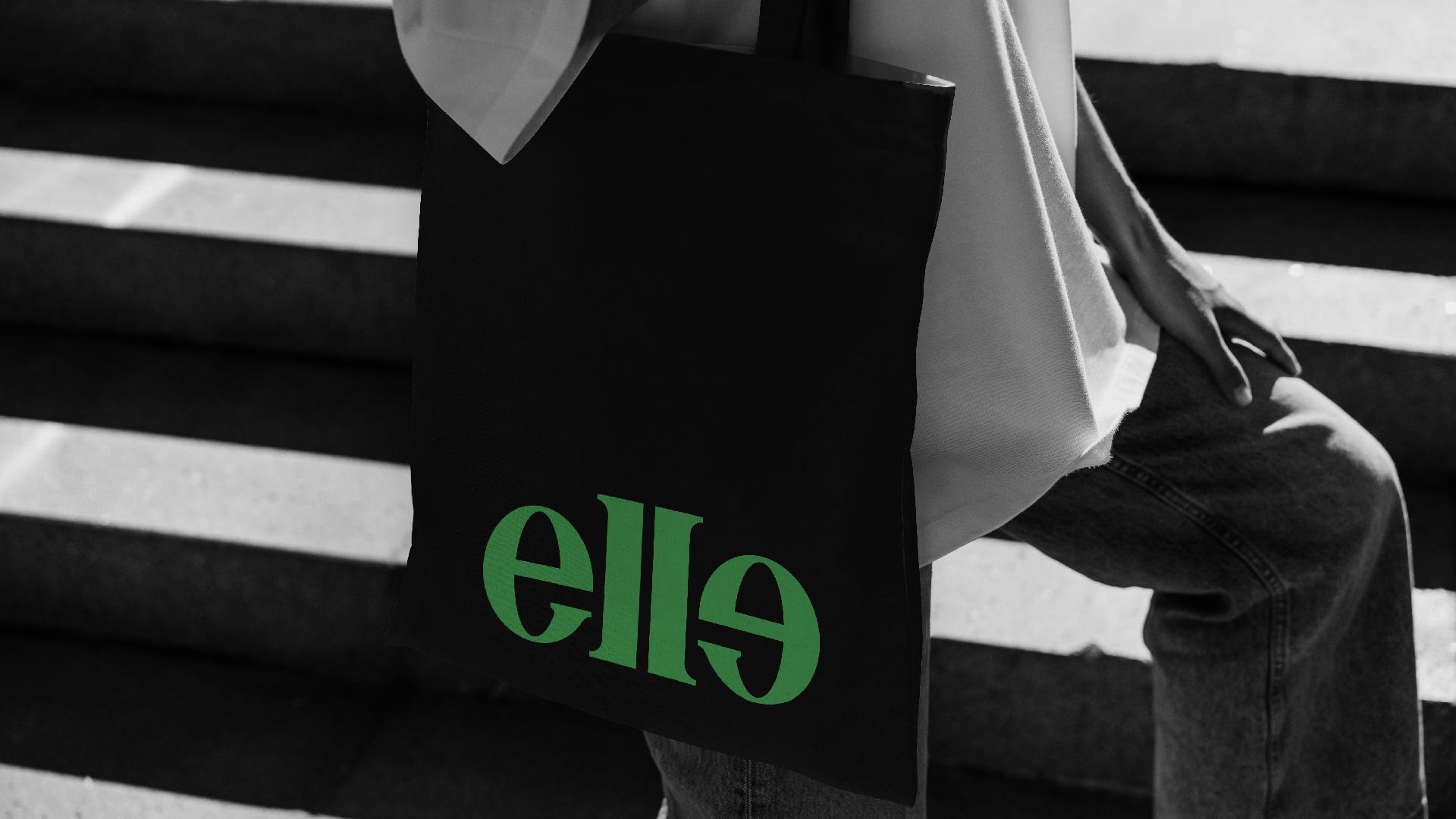 Khalid El Wakiel Creates Brand Identity for Fashion Brand Elle