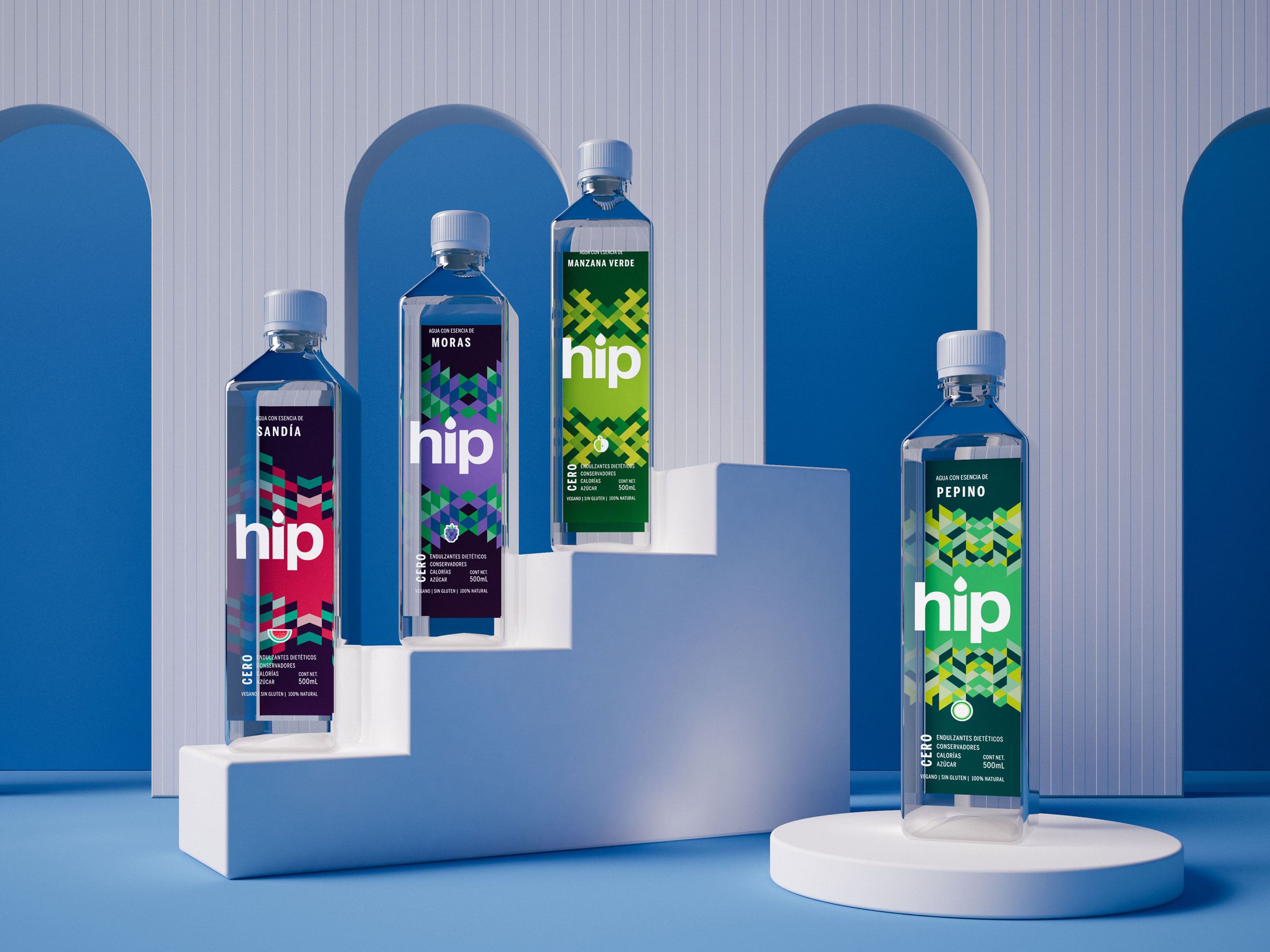 Ancla Studio Create Brand and Packaging Design Hip Water