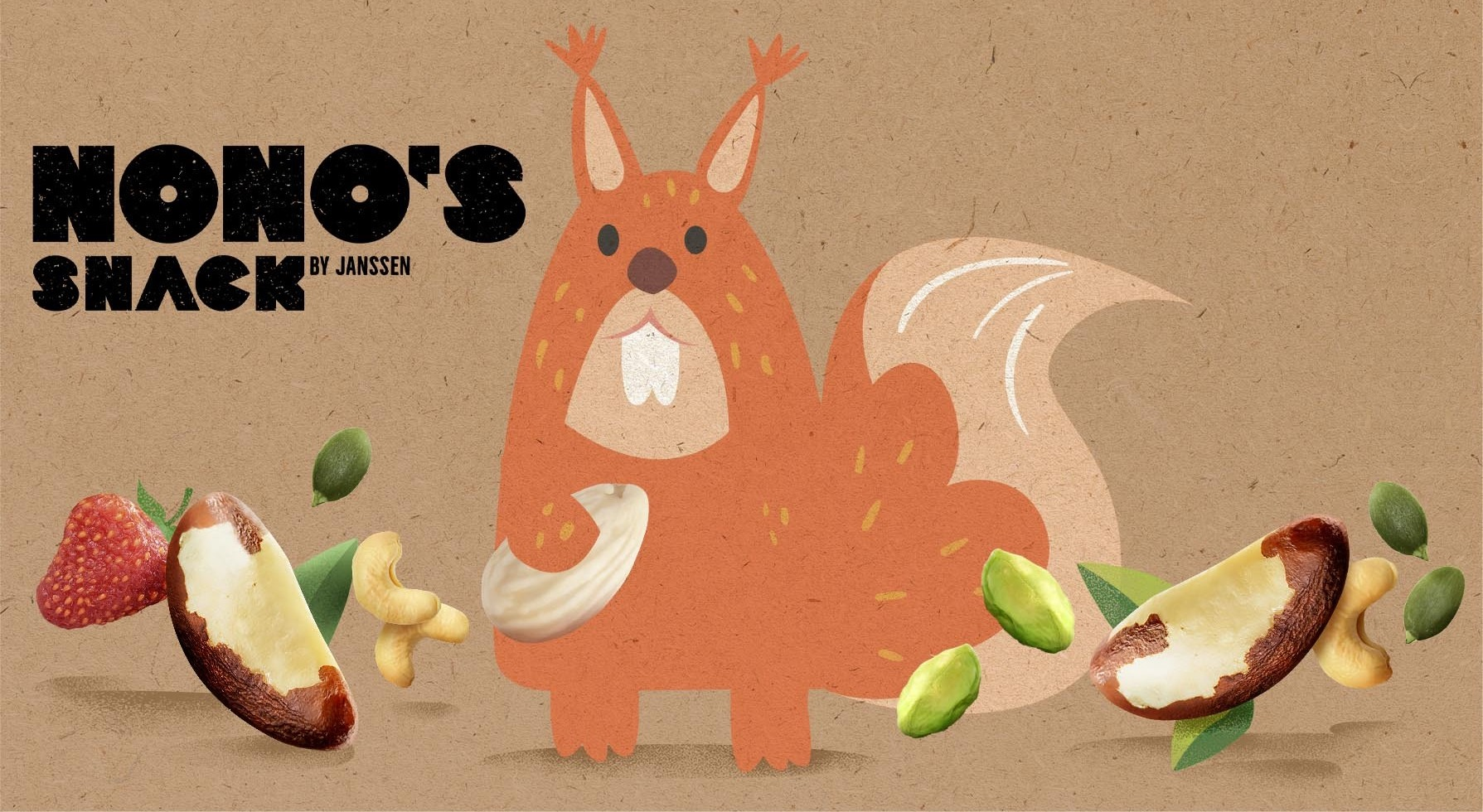 Nono's Snack Packaging Design by Win Creating Images