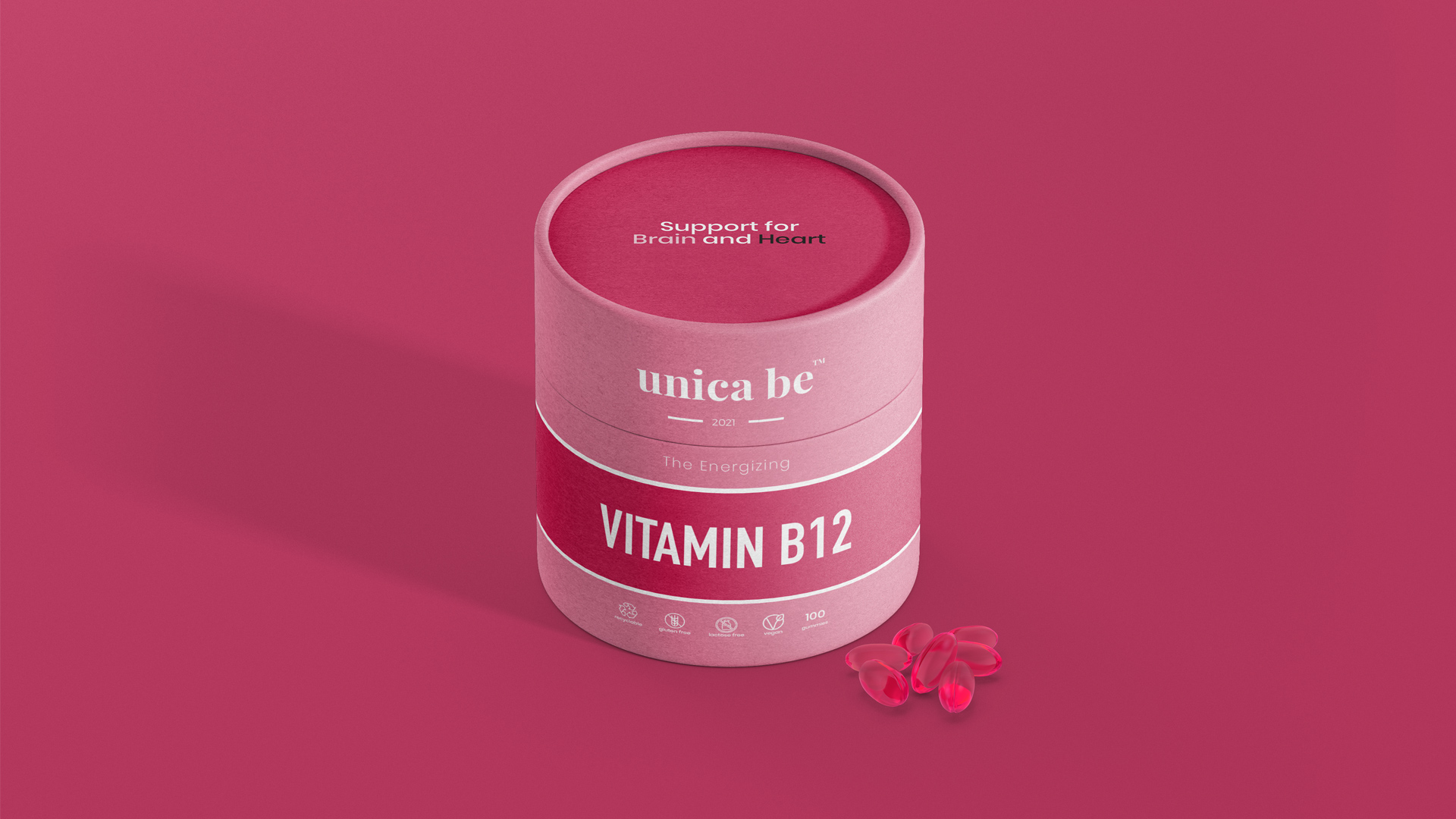 Brand Identity and Sustainable Packaging Design for New Health and Wellness Startup Uuica Be