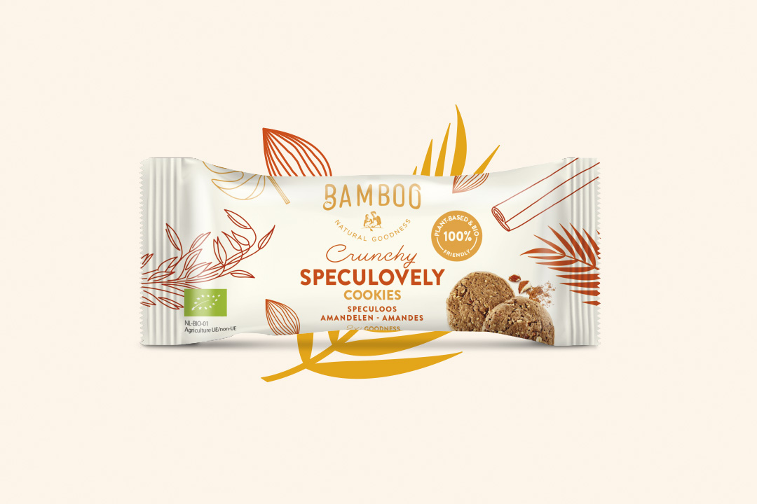 DesignRepublic Created Packaging Design for Bamboo Cookie Goodness