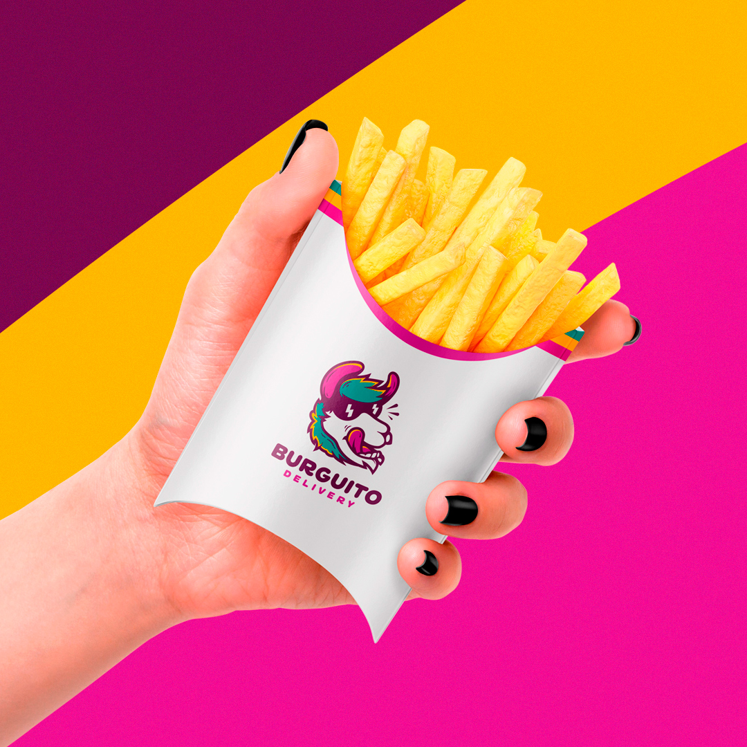 Burguito Delivery Snack Bar Branding by Leon Fabri