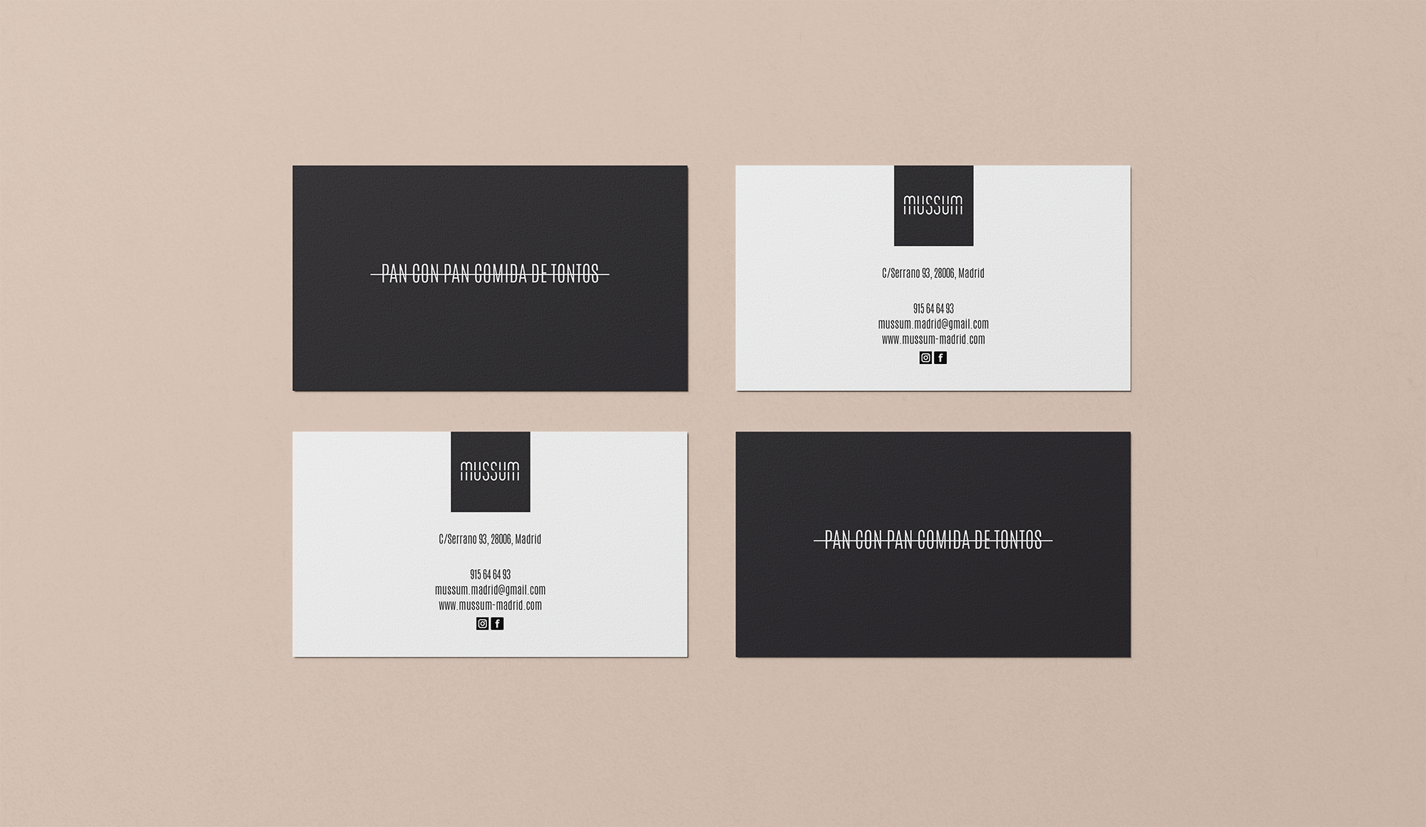 Branding and Website of Mussum Created by Hola. Creativos