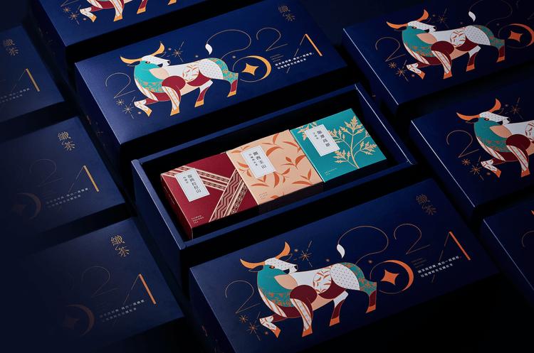 Weaving a Tea Story Gift Box Designed by Aaoo Studio