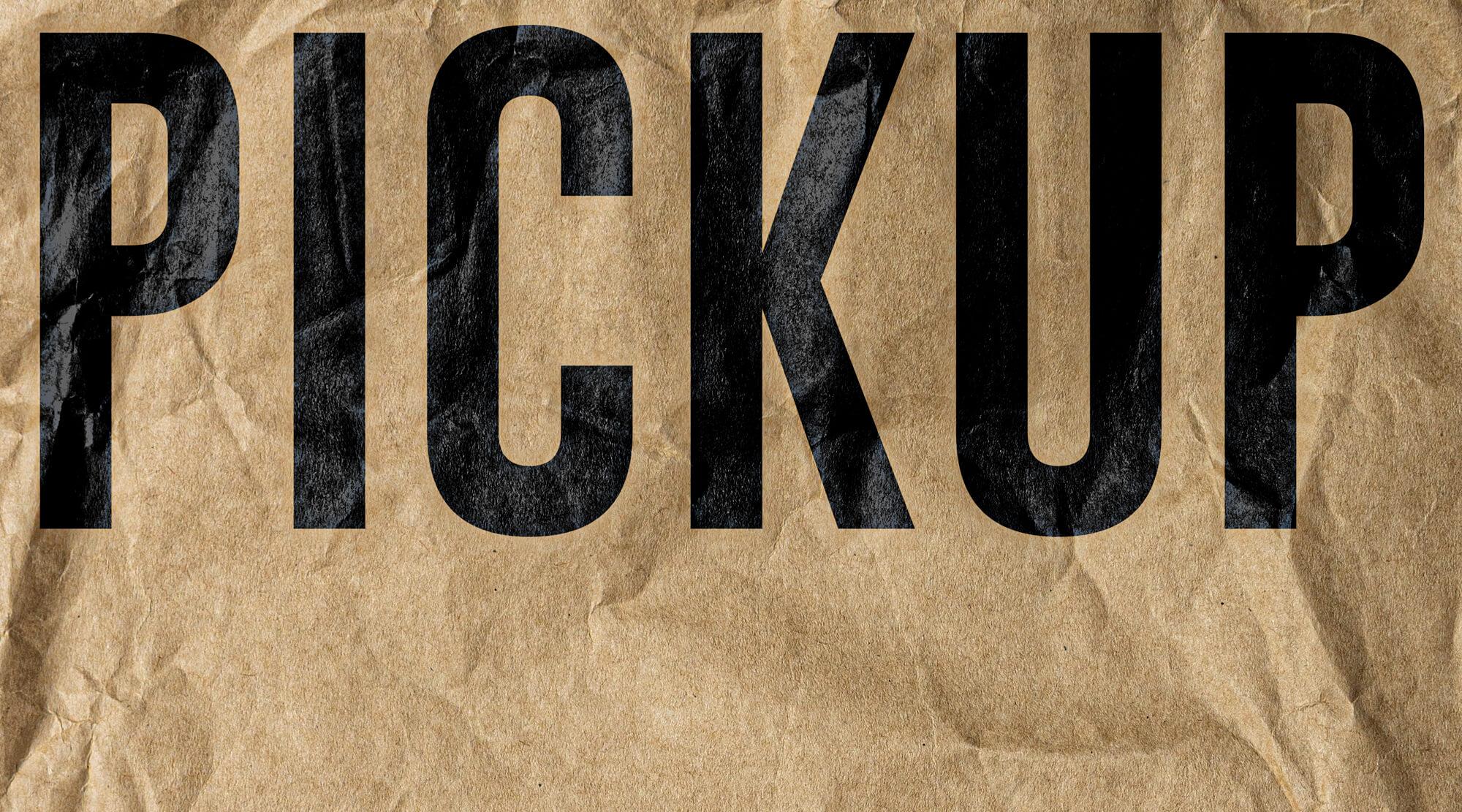 Qafila Studio Create Branding for Pickup Burger Restaurant
