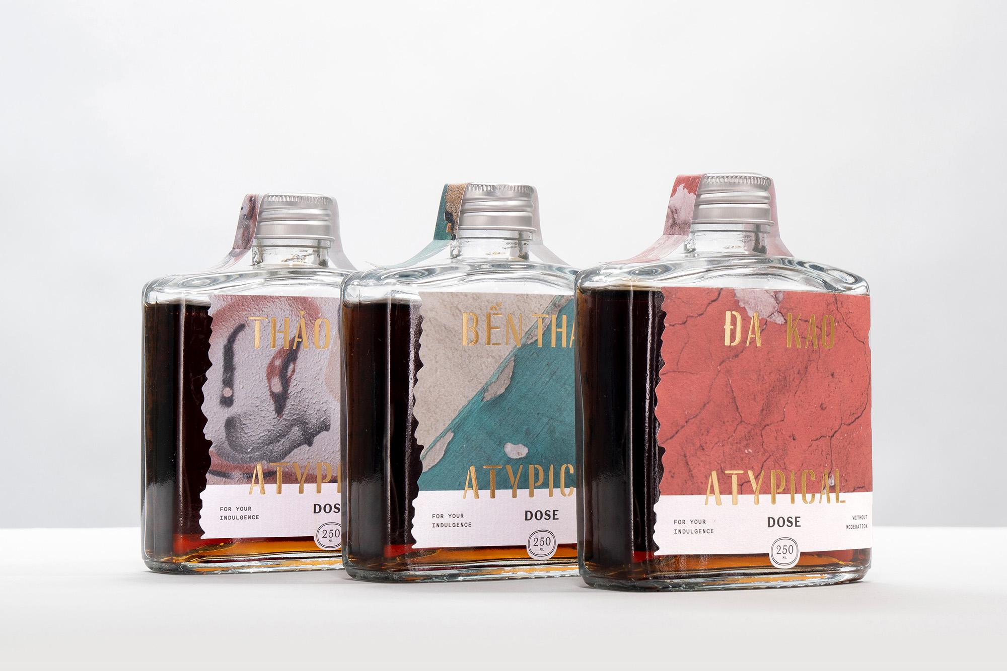 Atypical Coffee Packaging Design by Behalf Studio