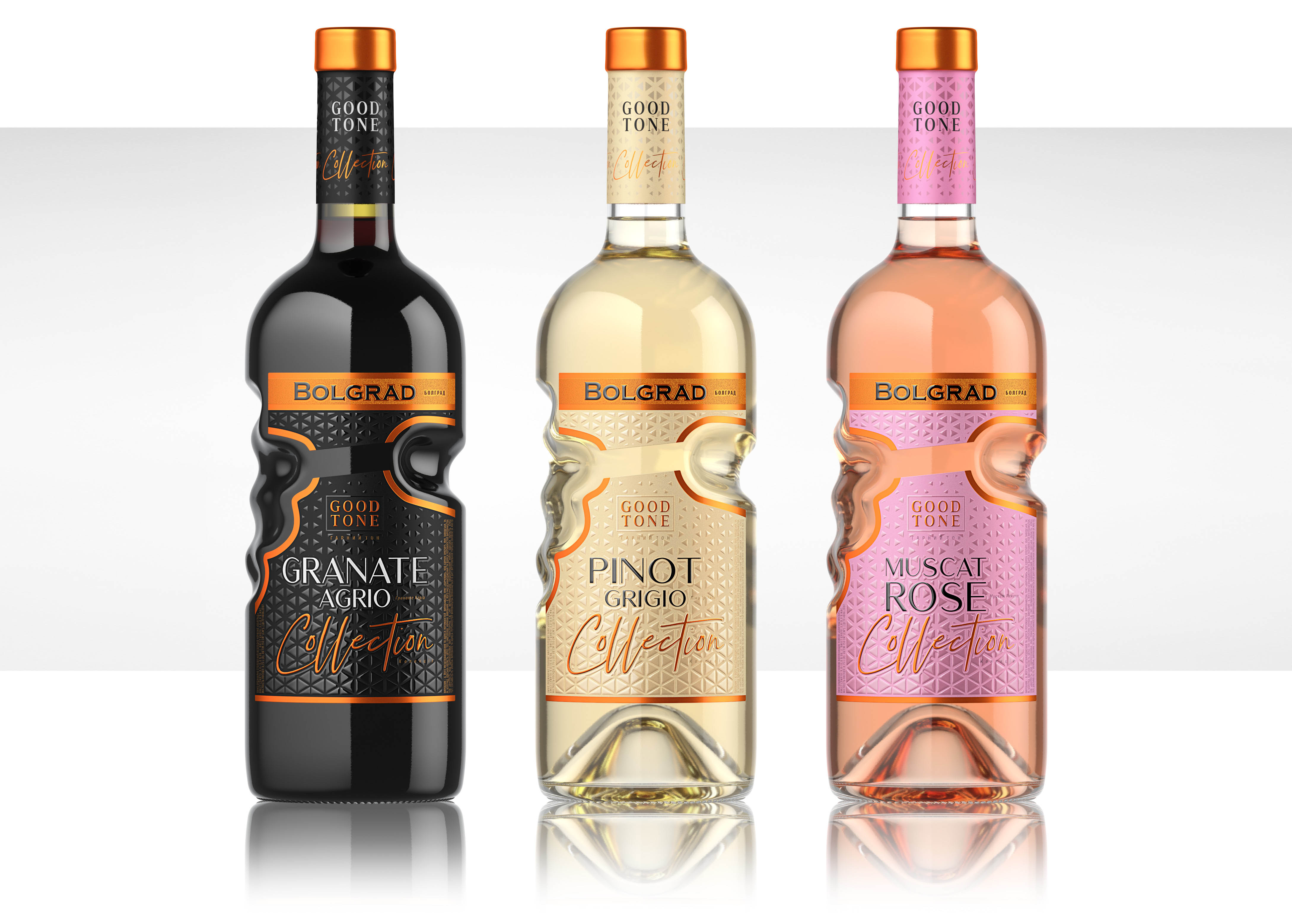 Shumi Love Design Create Packaging for Good Tone Bolgrad Collection of Wine
