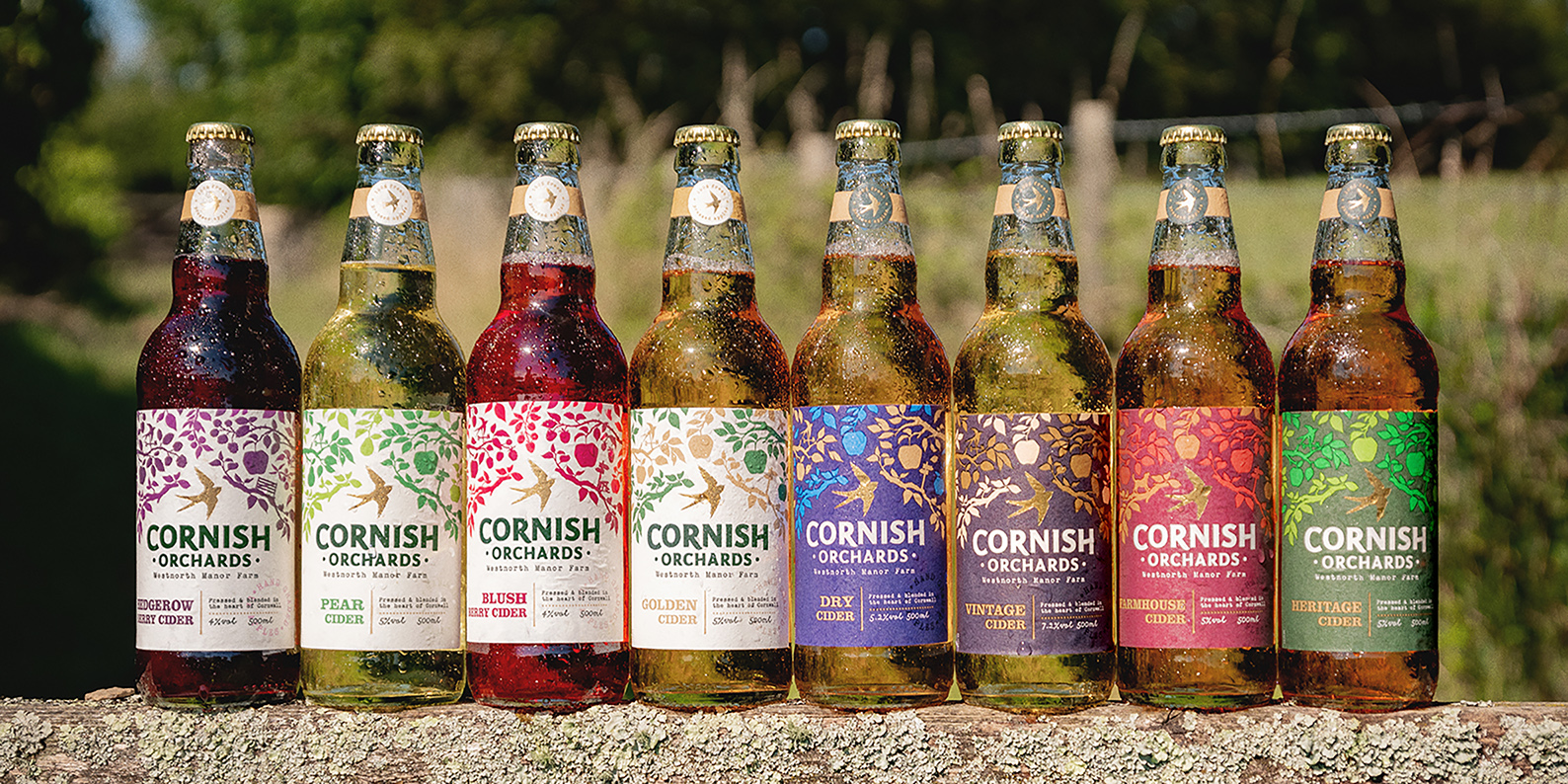 Cornish Orchards Celebrates Its Home and Heritage with New Identity by Outlaw