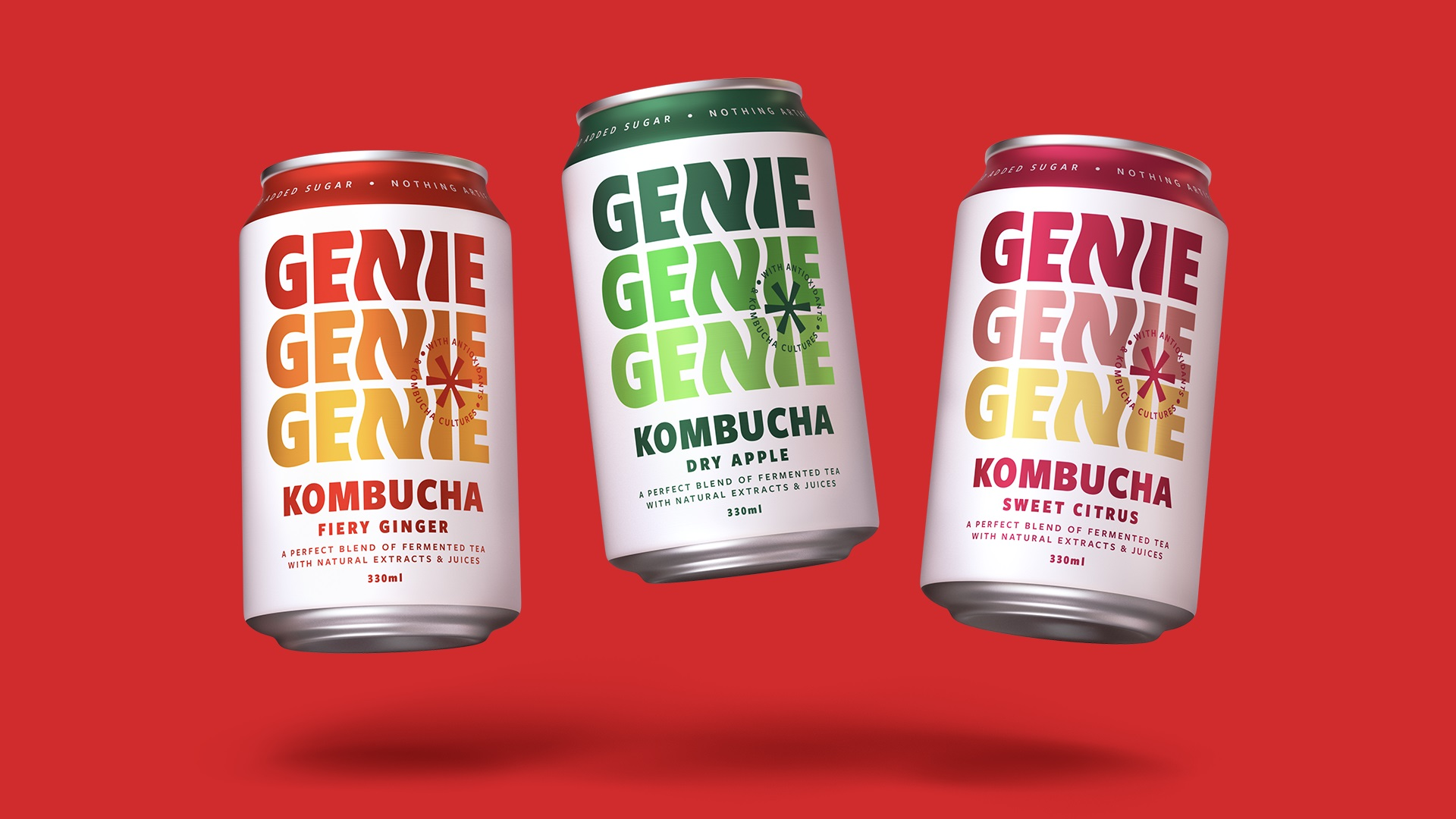 Genie Drinks Unveils Major Rebrand by Bulletproof