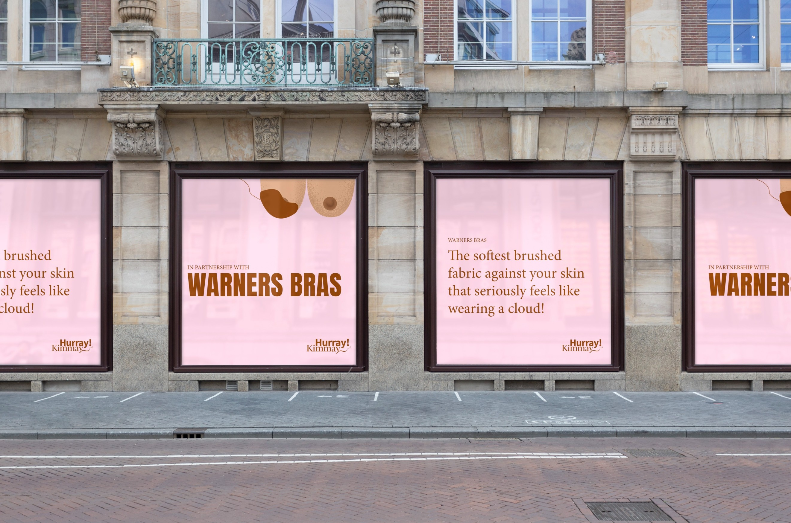 Monograph&Co. Create New Brand Identity for Better Support of Bra Buying Experience