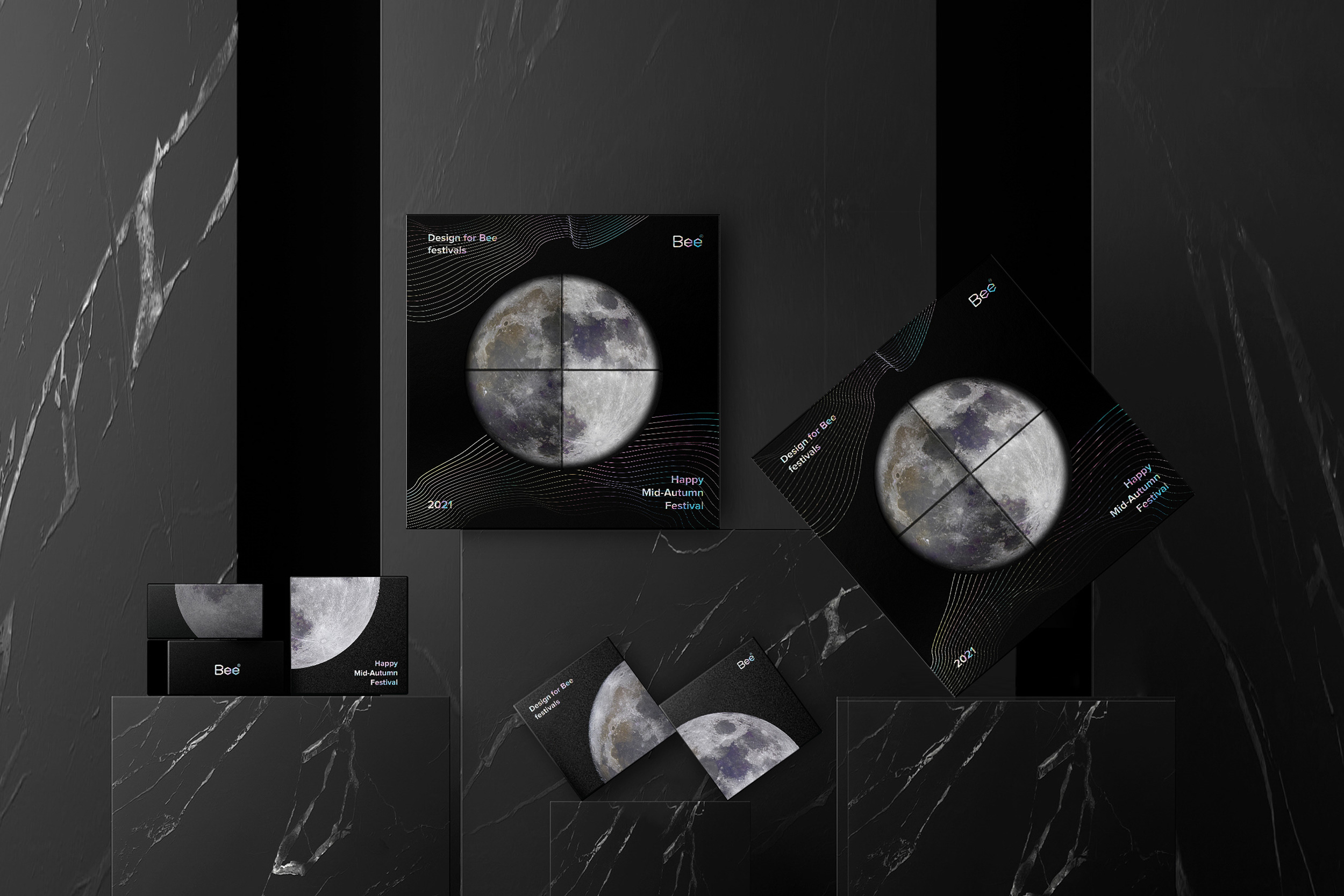 Mooncake Packaging Design by Bee Design