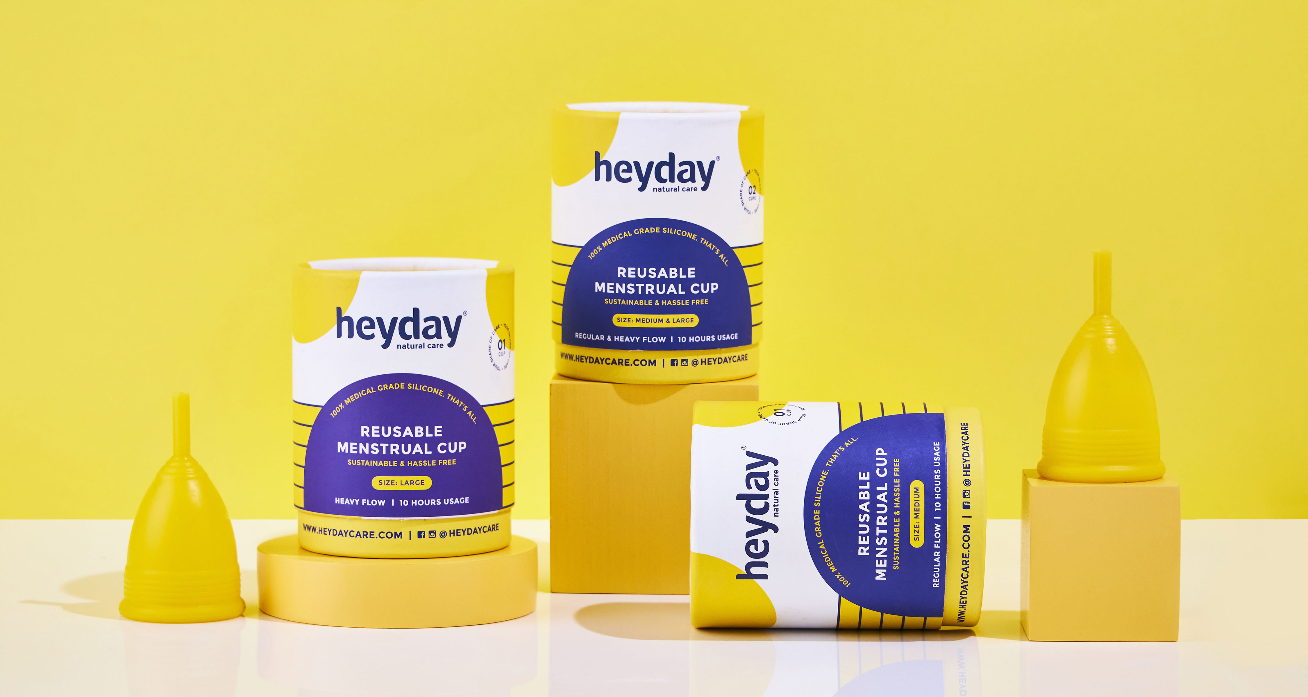 Sejal Agarwal Creates Packaging for Heyday, a Natural Personal Care Brand