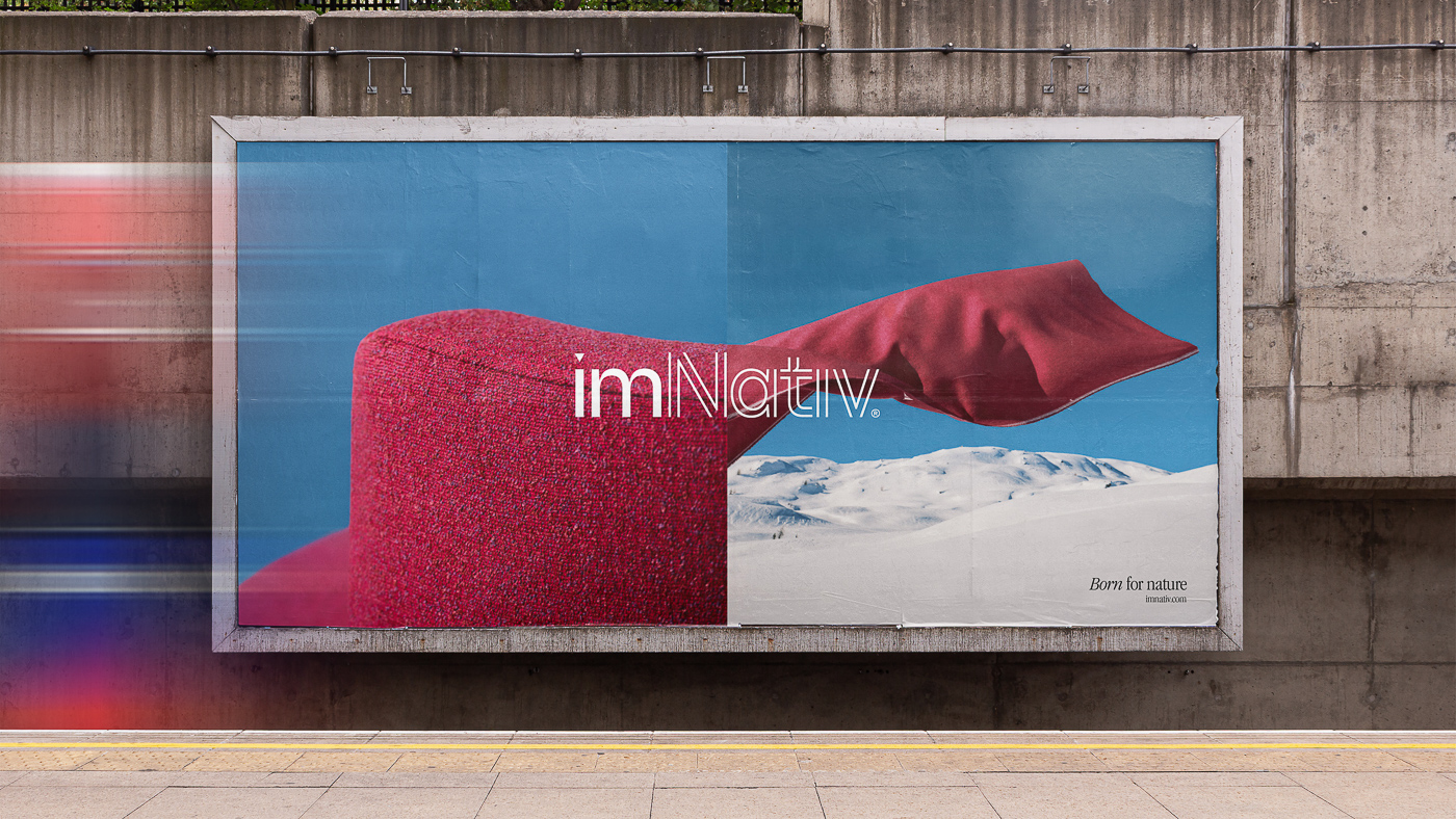 Brand Communication for imNativ a 100% Made in Italy Sustainable Fabrics Brand