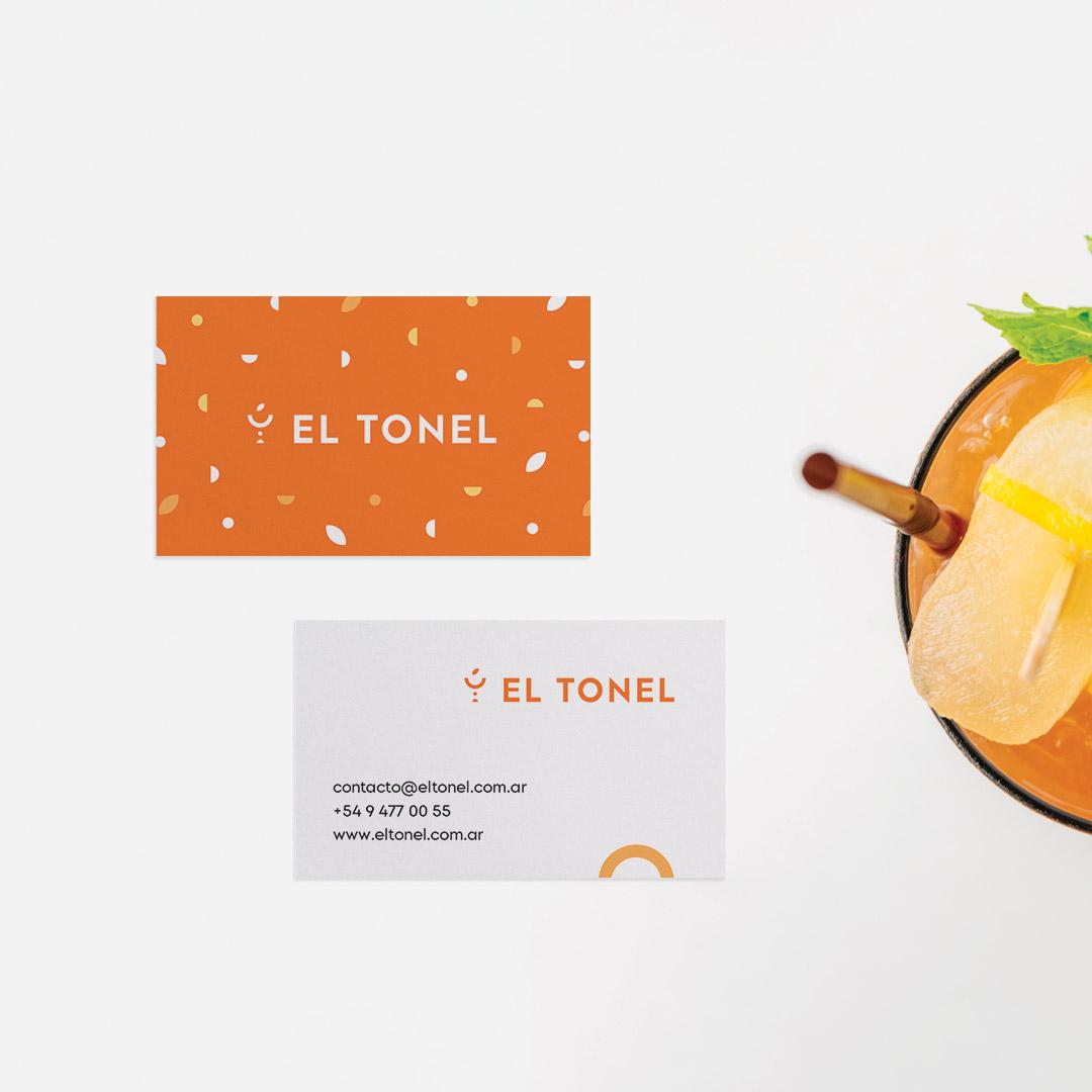 Branding for El Tonel Liquor Store Designed by Nuez Studio