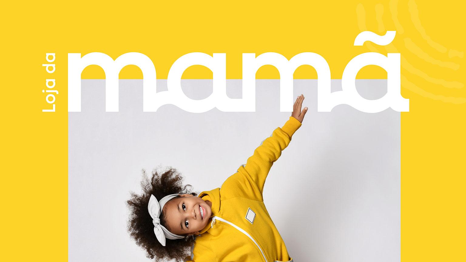 Loja da Mamã Kids Store Branding