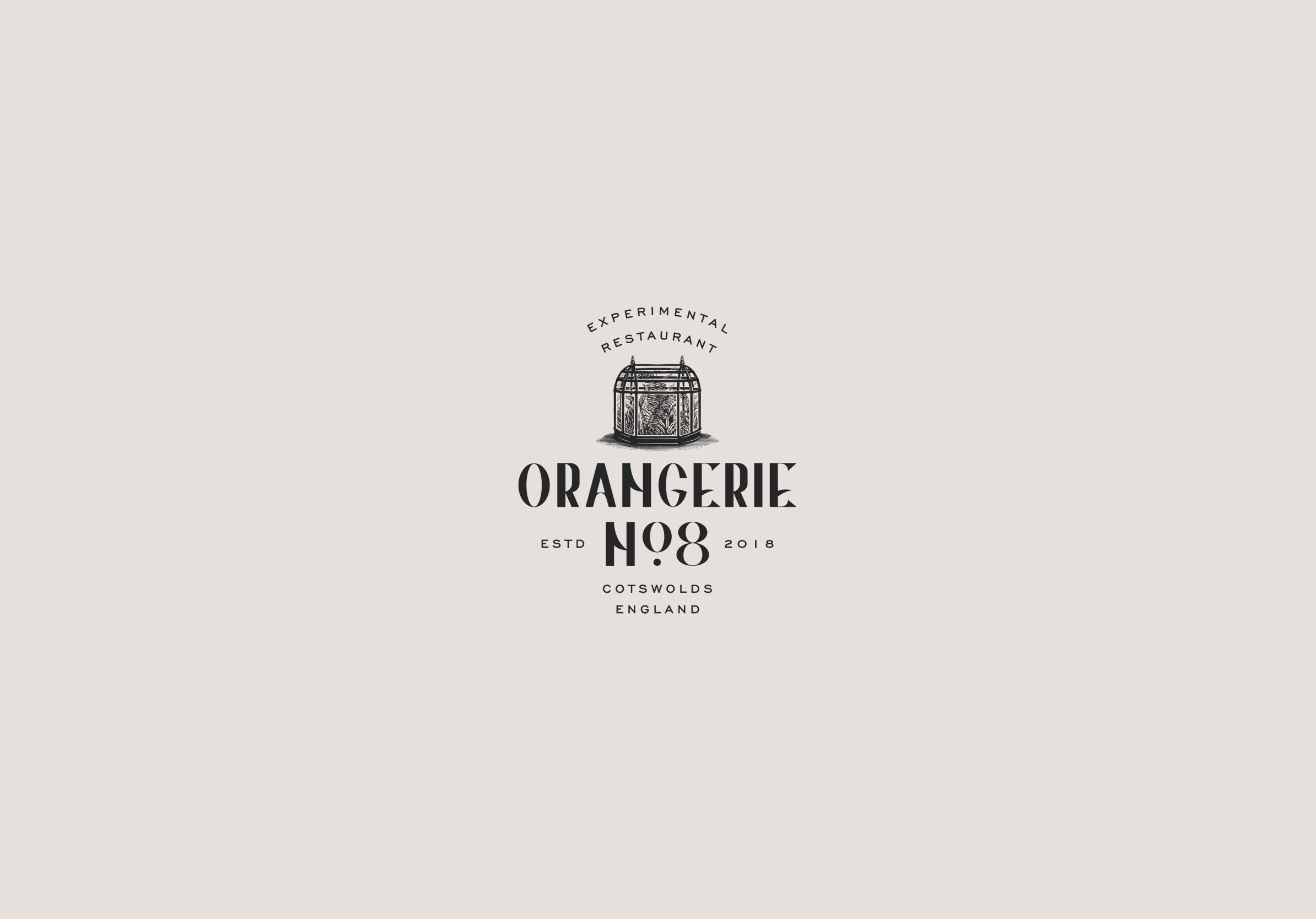 Branding for Experimental Restaurant Orangerie No:8