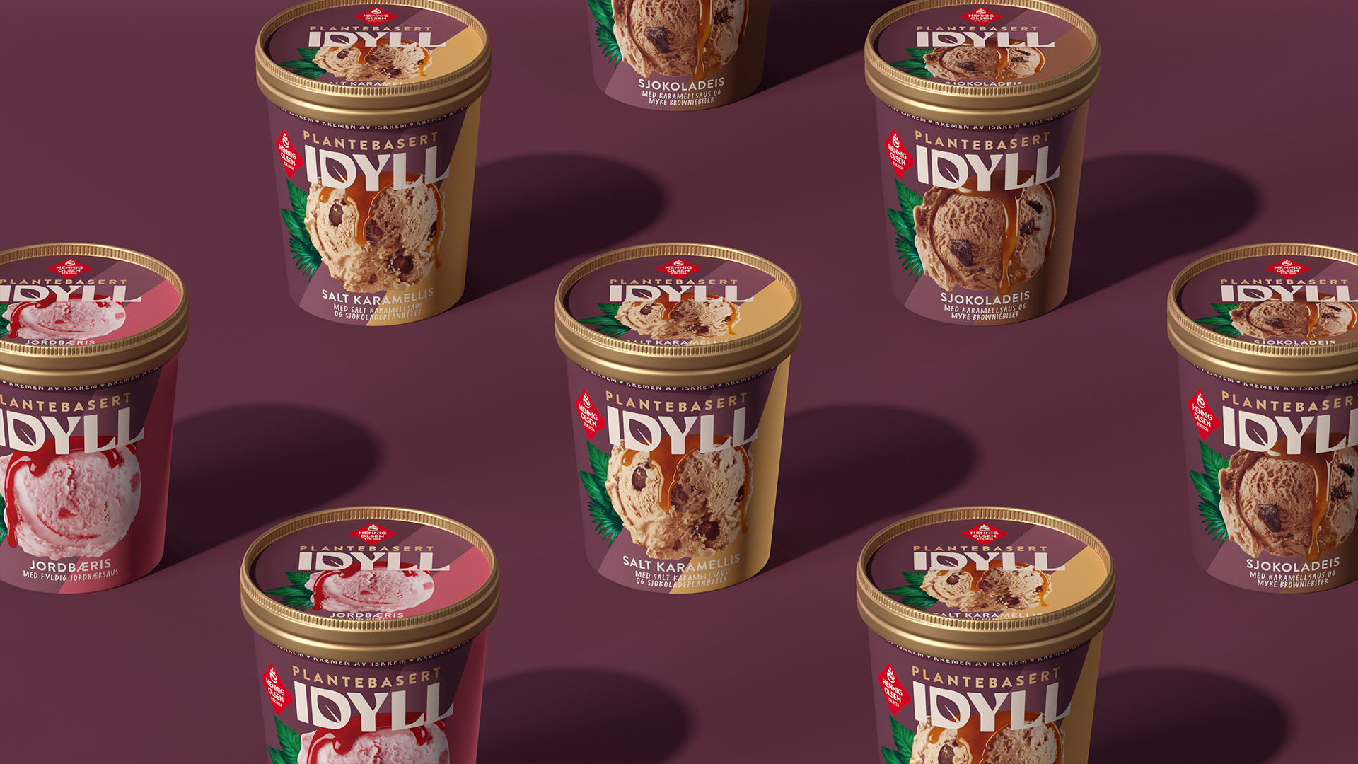 JDO Takes New Plant-Based Ice Cream Idyll to a Dark, Delicious Place