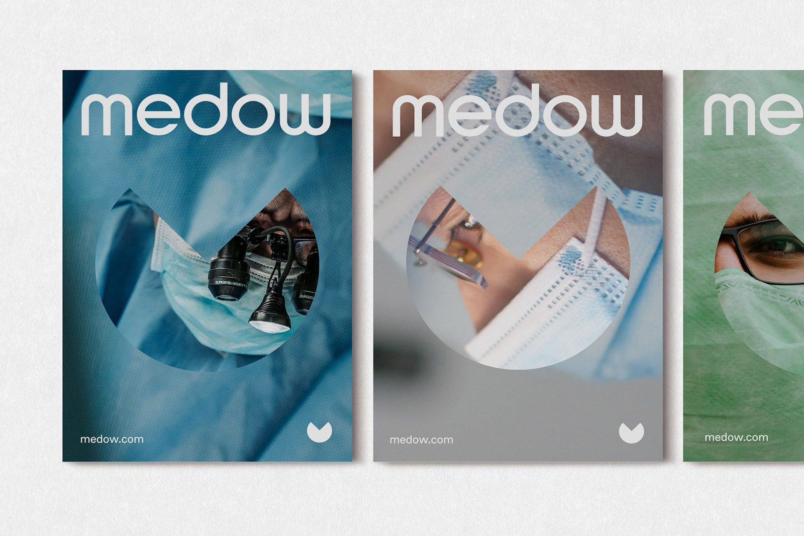 Medical and Healthcare Branding for Medow by Fable&Co.