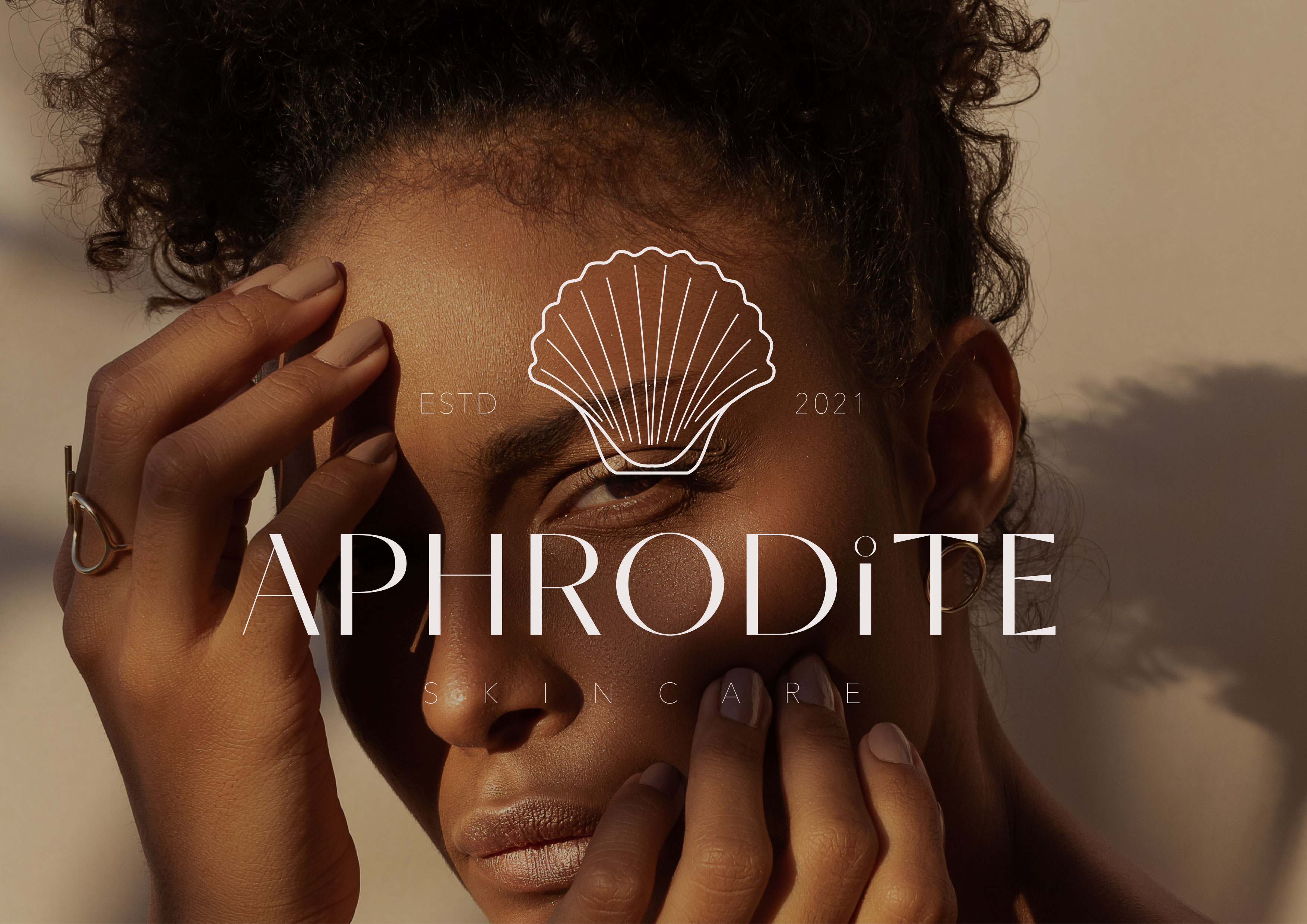 Aphrodite Skincare Brand and Packaging Concept Designed by Kanushi Rathore